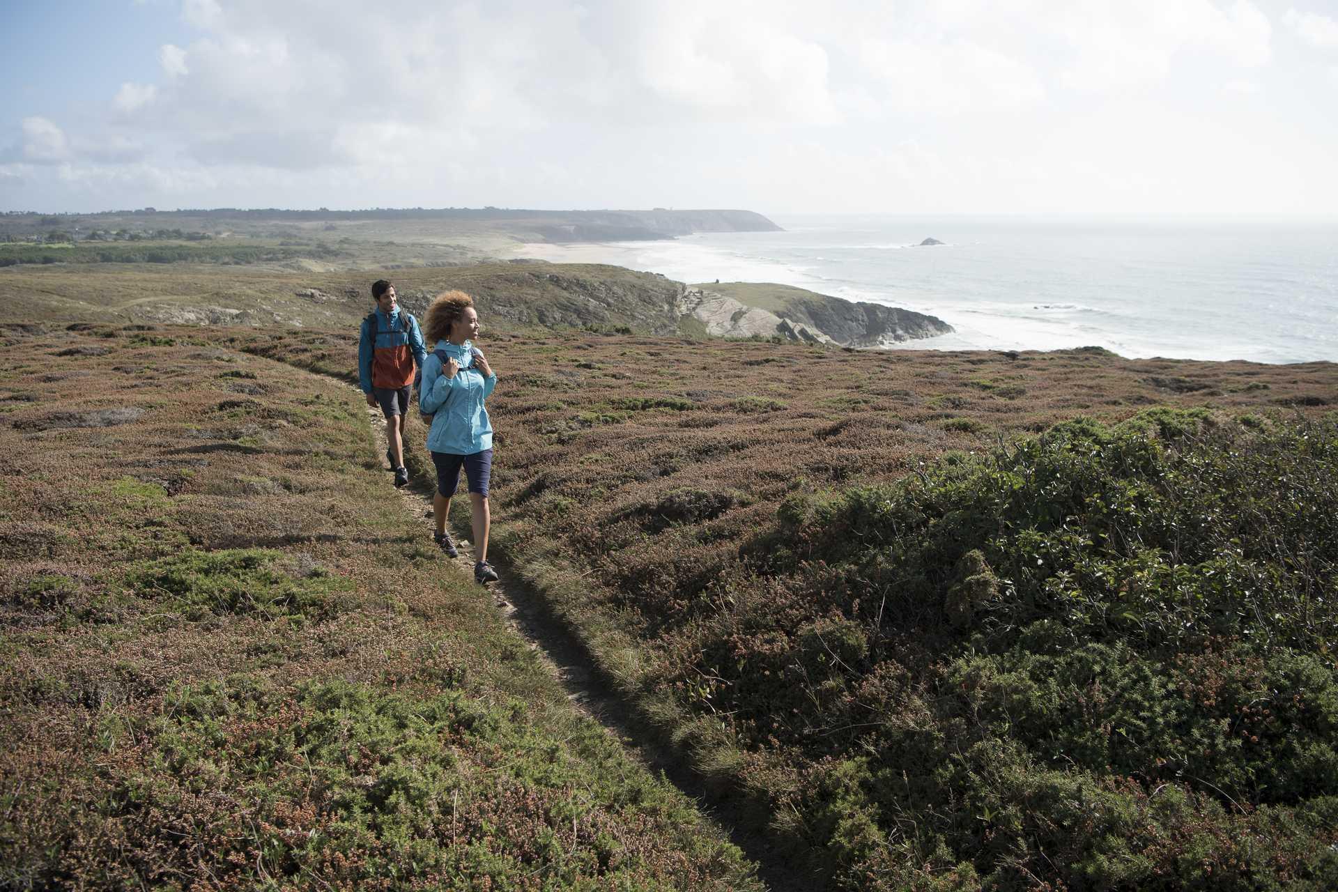 Rando nature à Crozon sur la côte