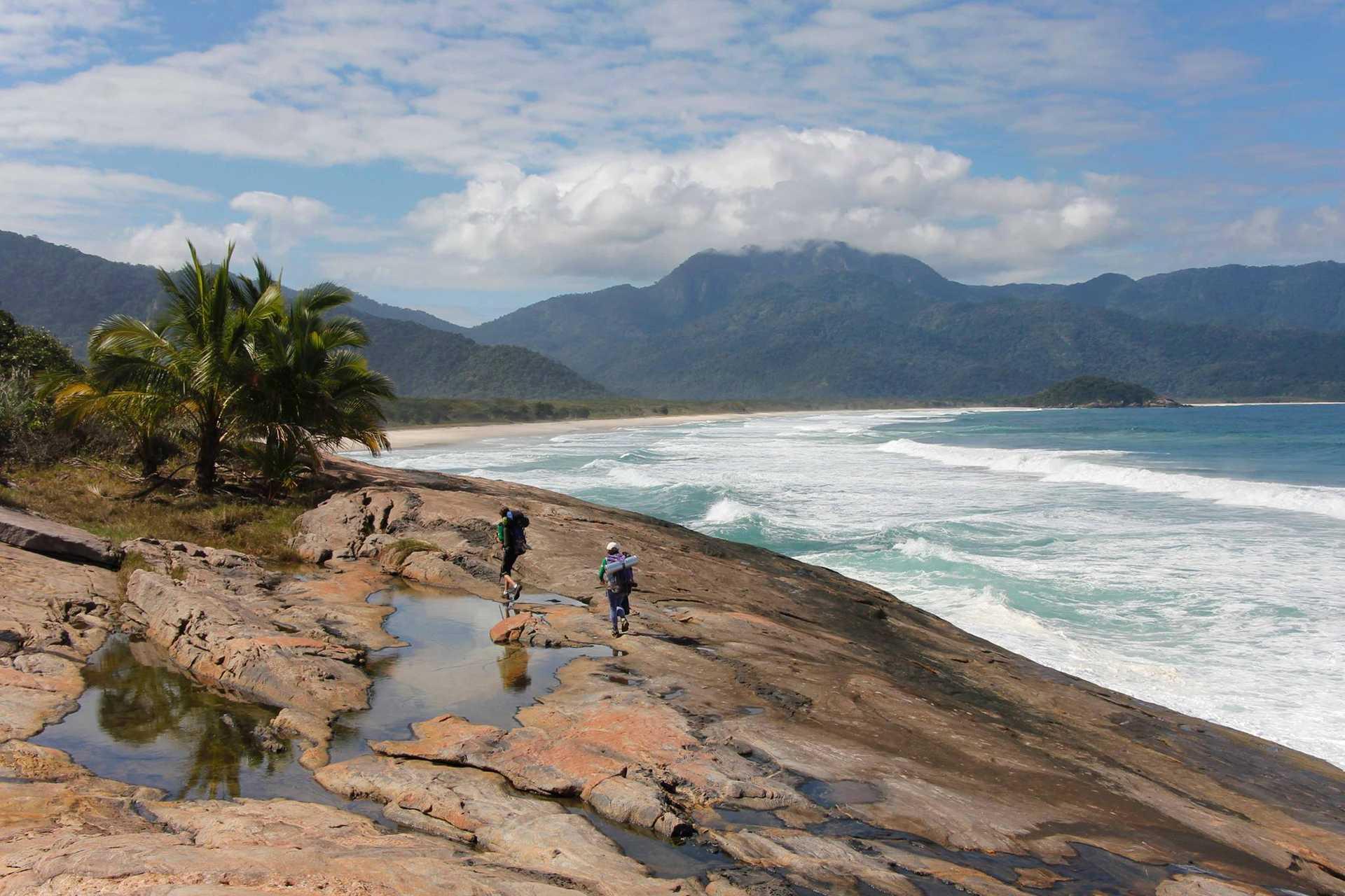 Randonnée à Ilha Grande dans l'état de Rio