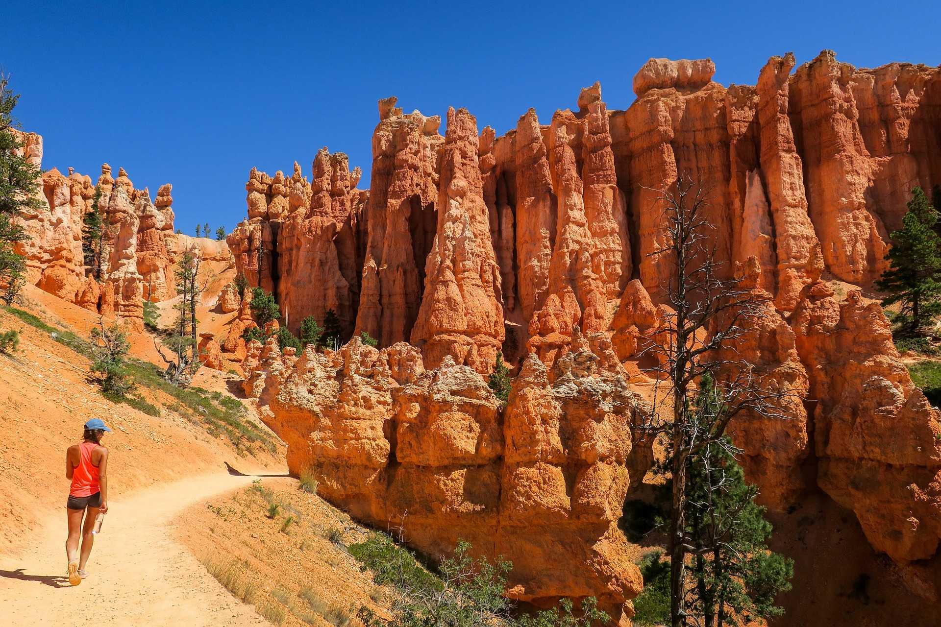 Randonnée dans le parc national de Bryce Canyon