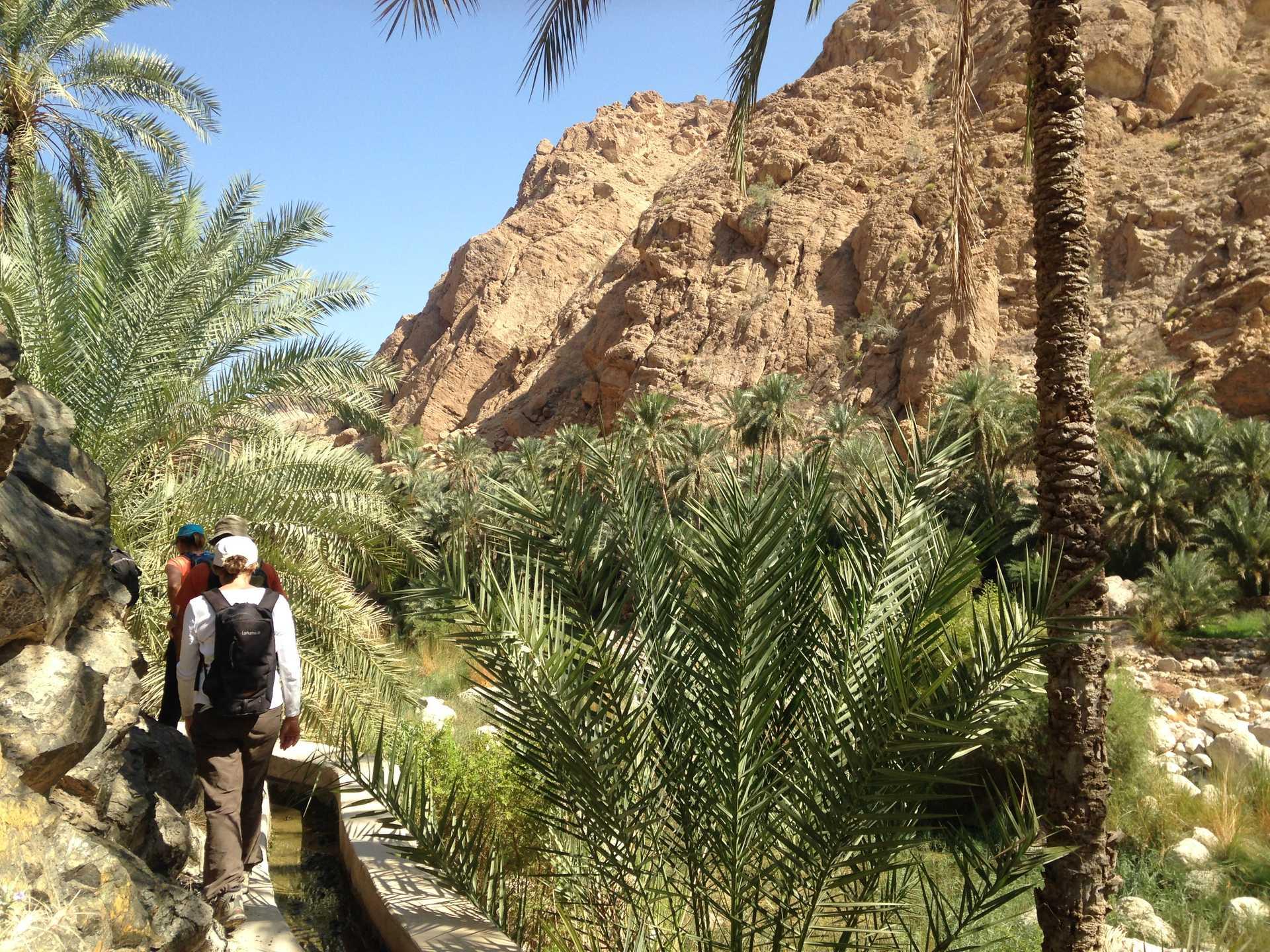 Randonnée dans le Sultanat d'Oman