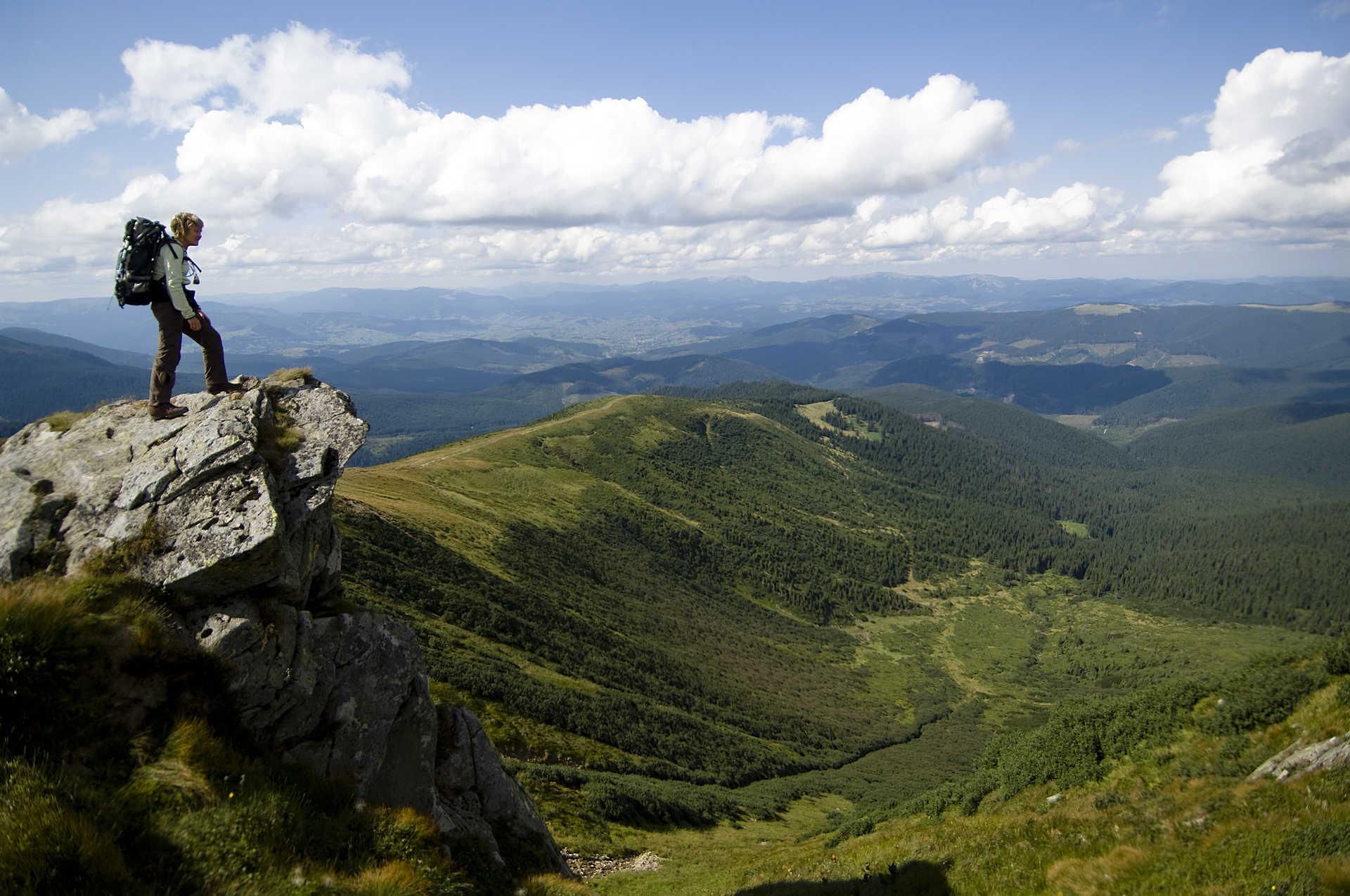 Randonnée dans les Carpates ukrainiennes