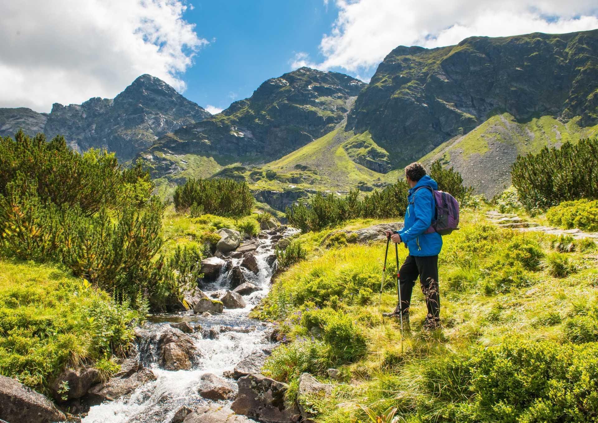 Randonnée dans les Hautes Tatras polonaises, région de Zakopane