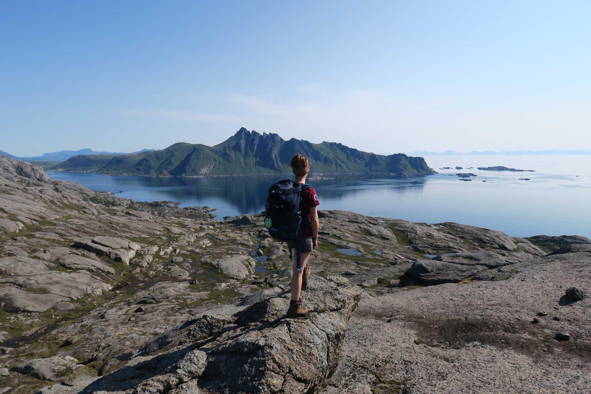 Randonnée dans les Iles Lofoten en Norvège