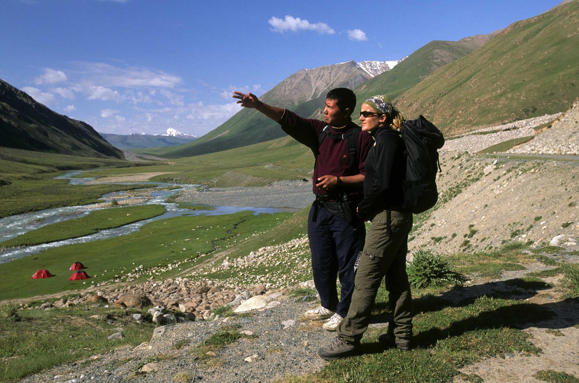 Randonnée voyage combiné Ouzbékistan et Kirghizie