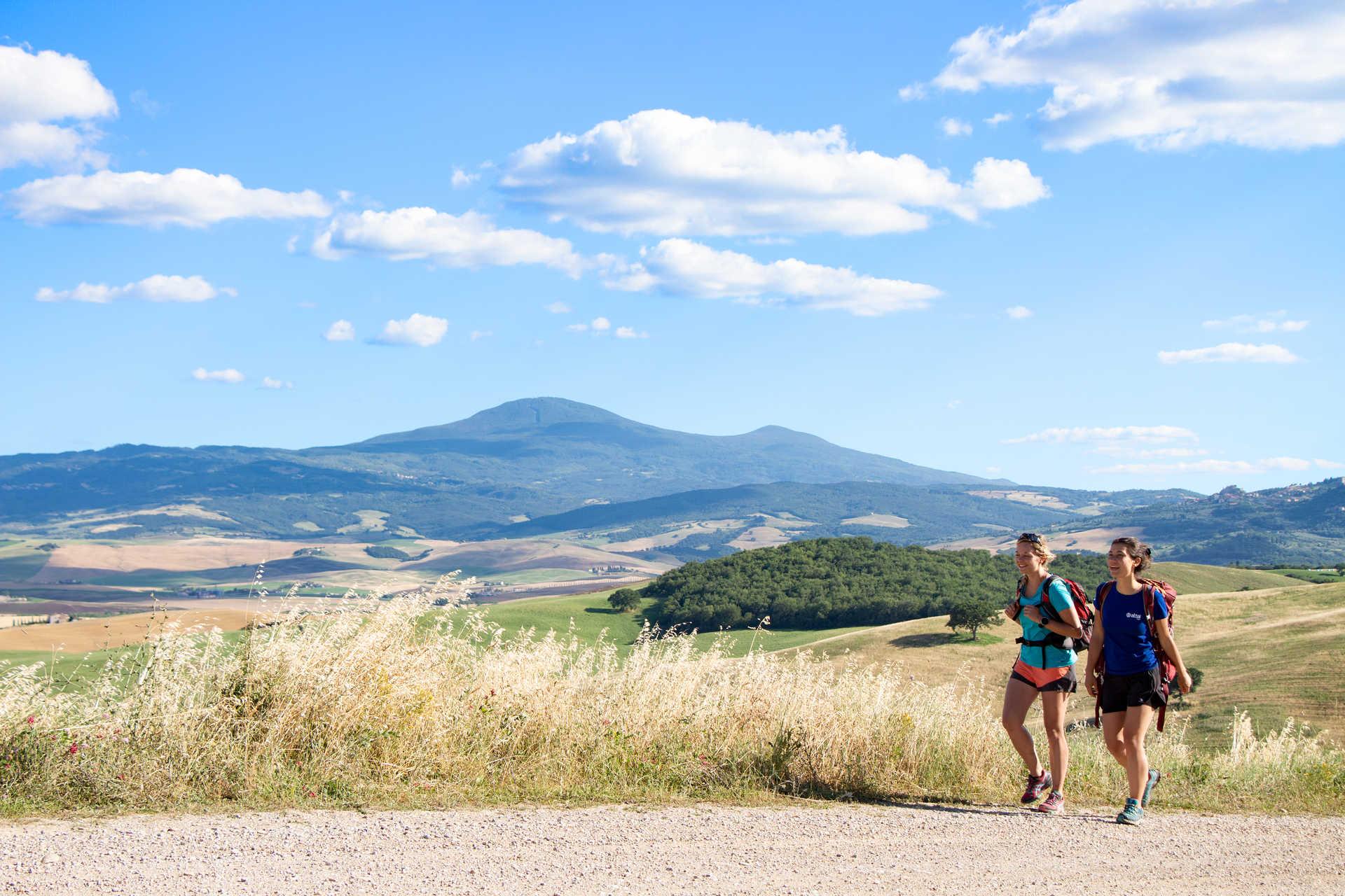 Randonnée en Toscane