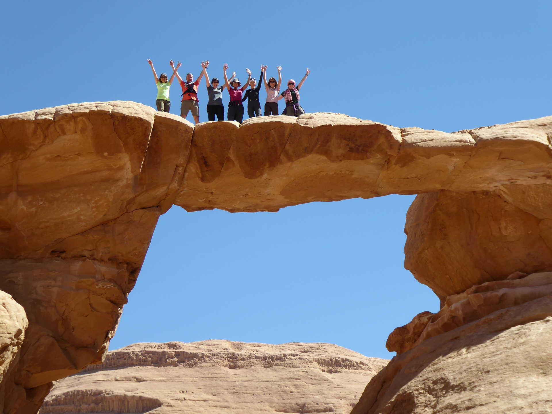 Randonnée et exploration dans le désert de Wadi Rum