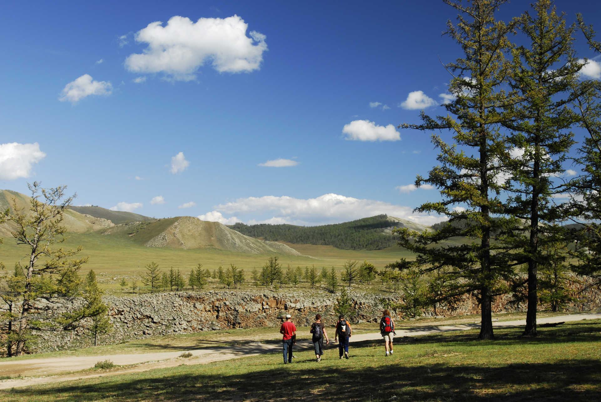 Randonnée itinérante dans les Monts Khangai @ S.Fautre