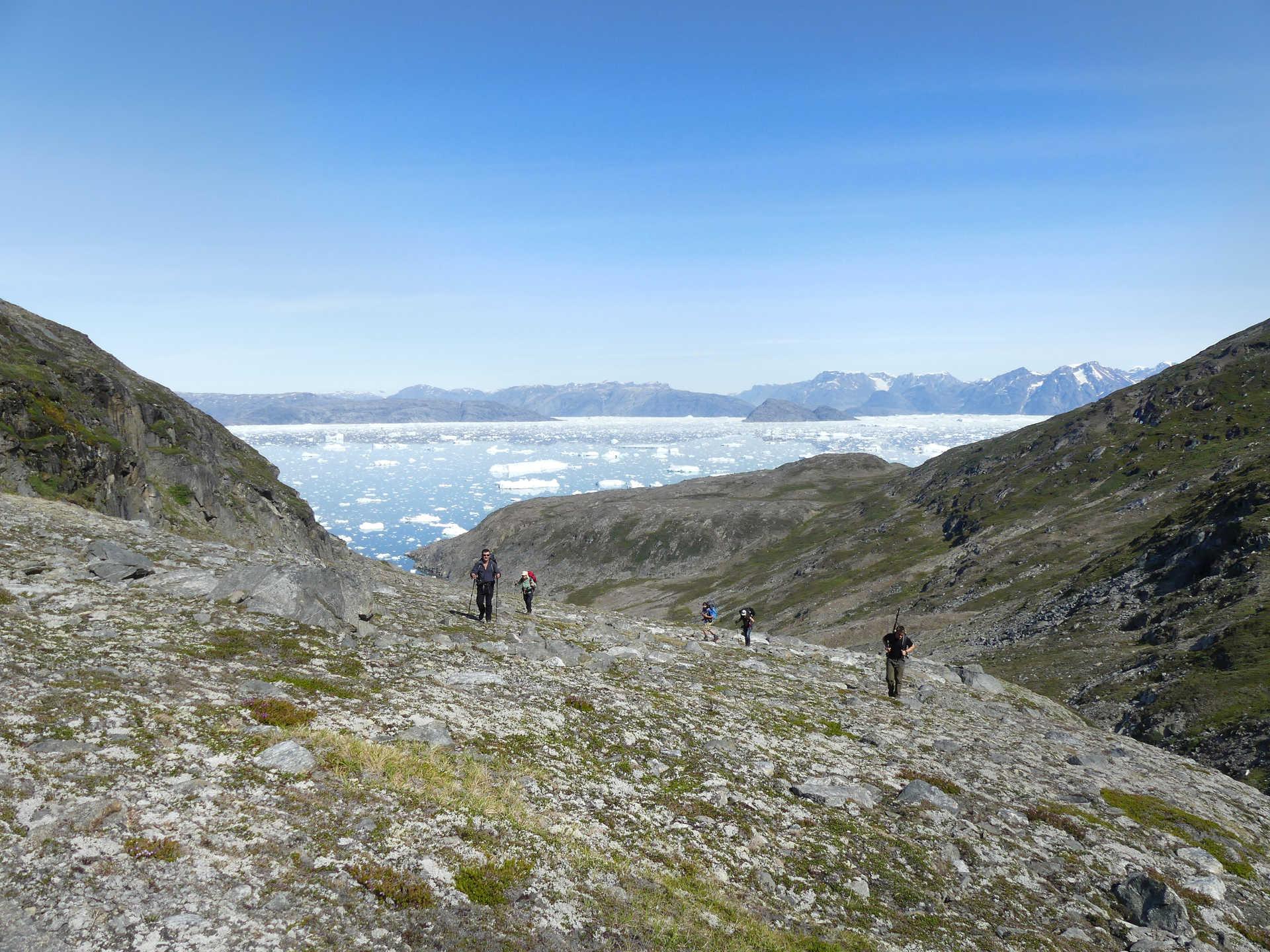 Randonnée sur la côté sauvage du Groenland