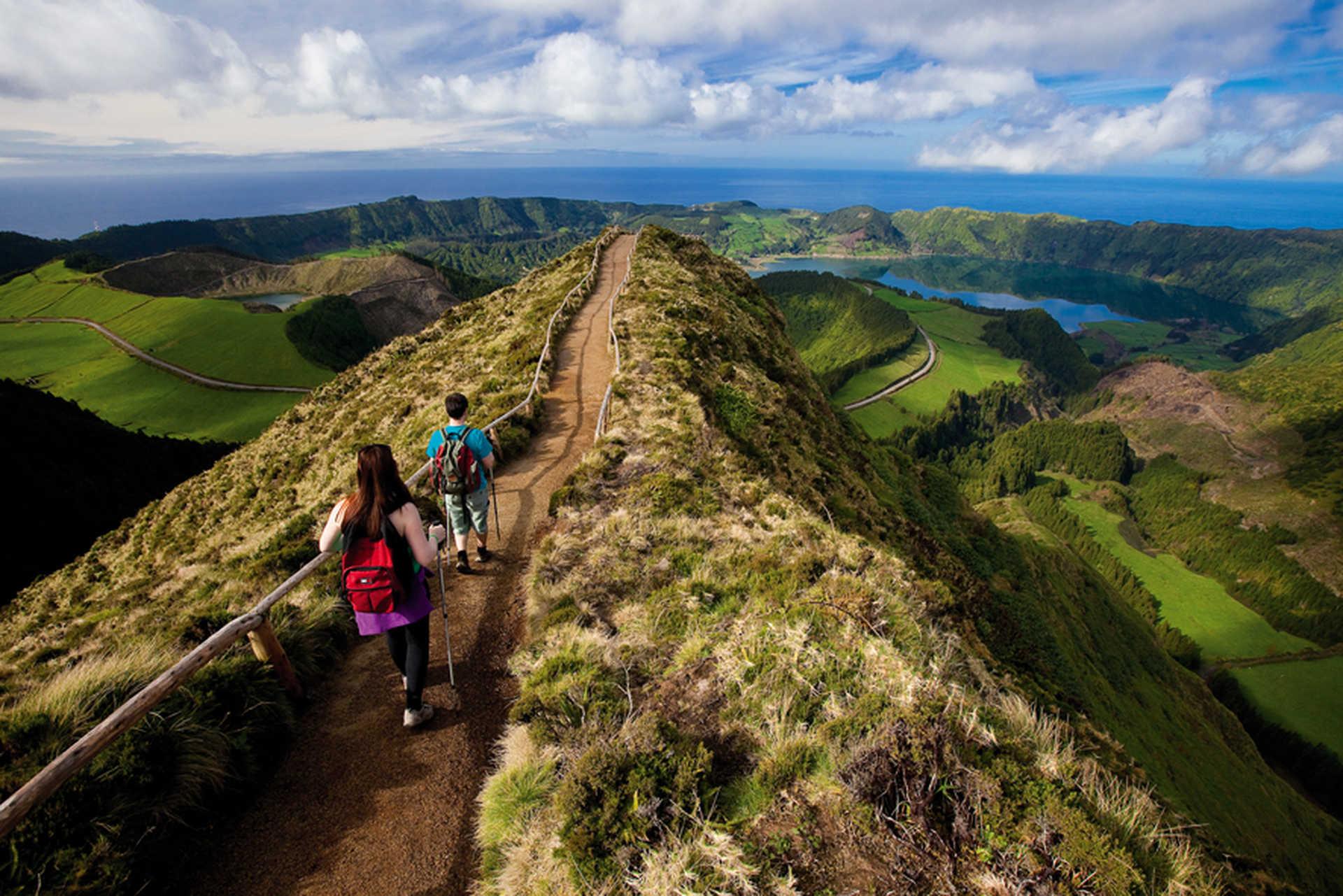 Randonnée sur l'île de Sao Miguel aux Açores