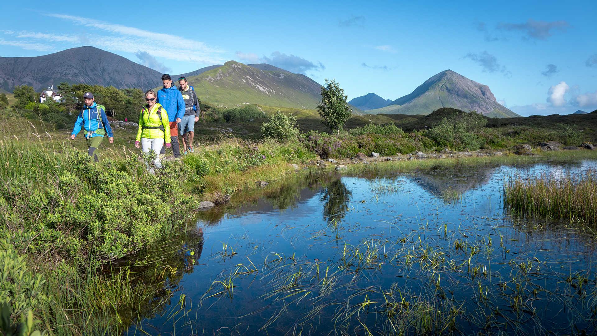 Randonnée sur l'île de Skye en Ecosse