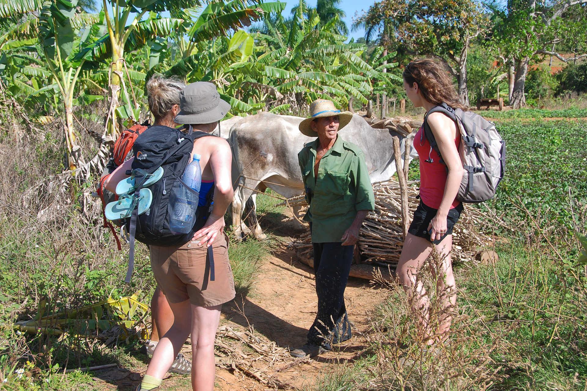 rencontre rando vallée de Vinales Cuba