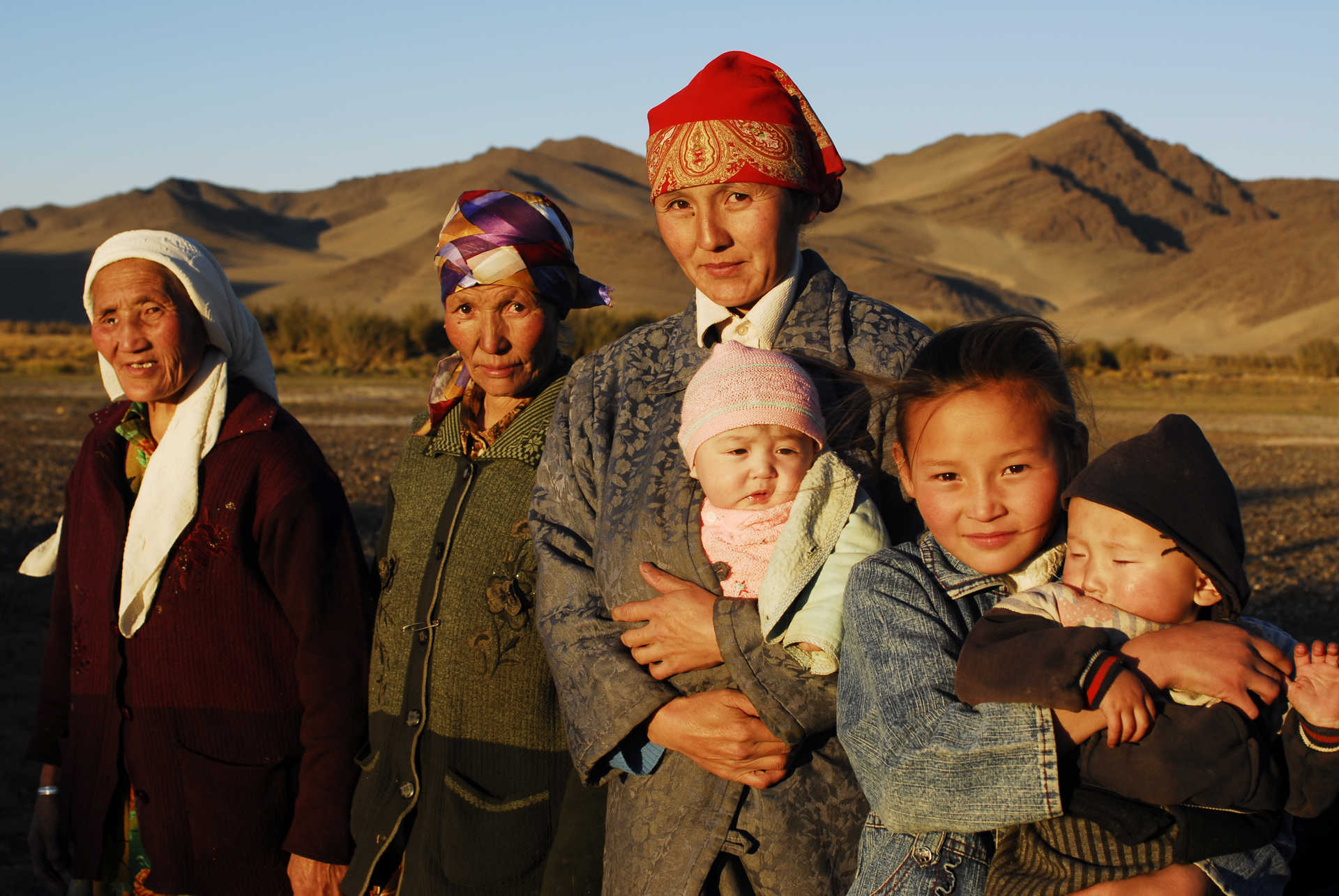 Mongolie, population locale