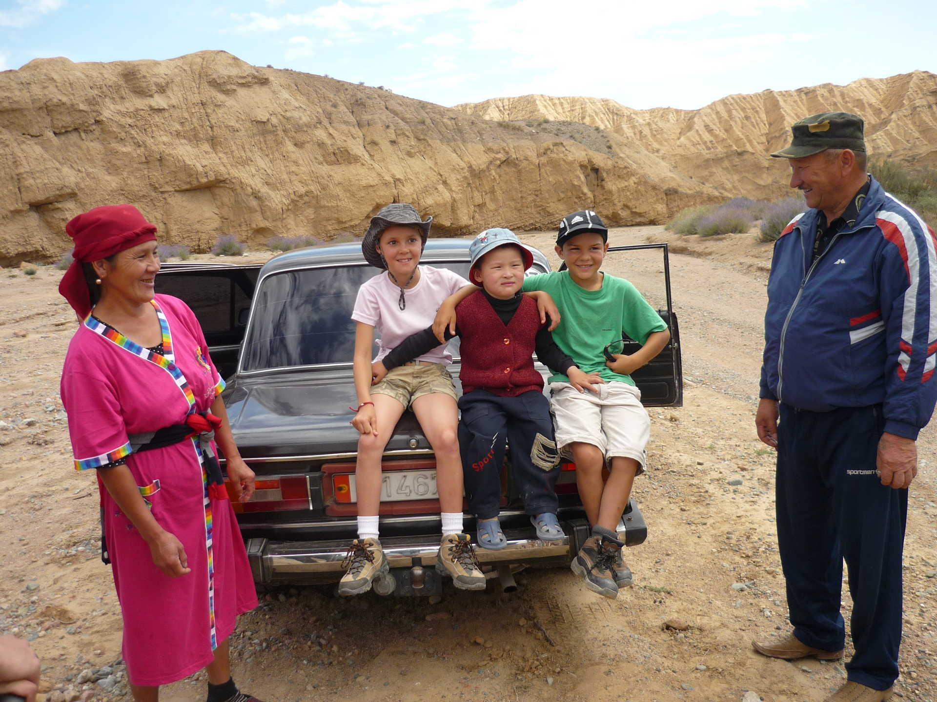 Rencontre en Kirghizie