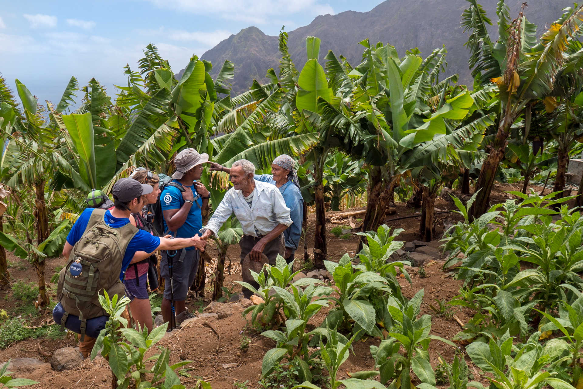 Rencontres et vie locale sur Santo Antao
