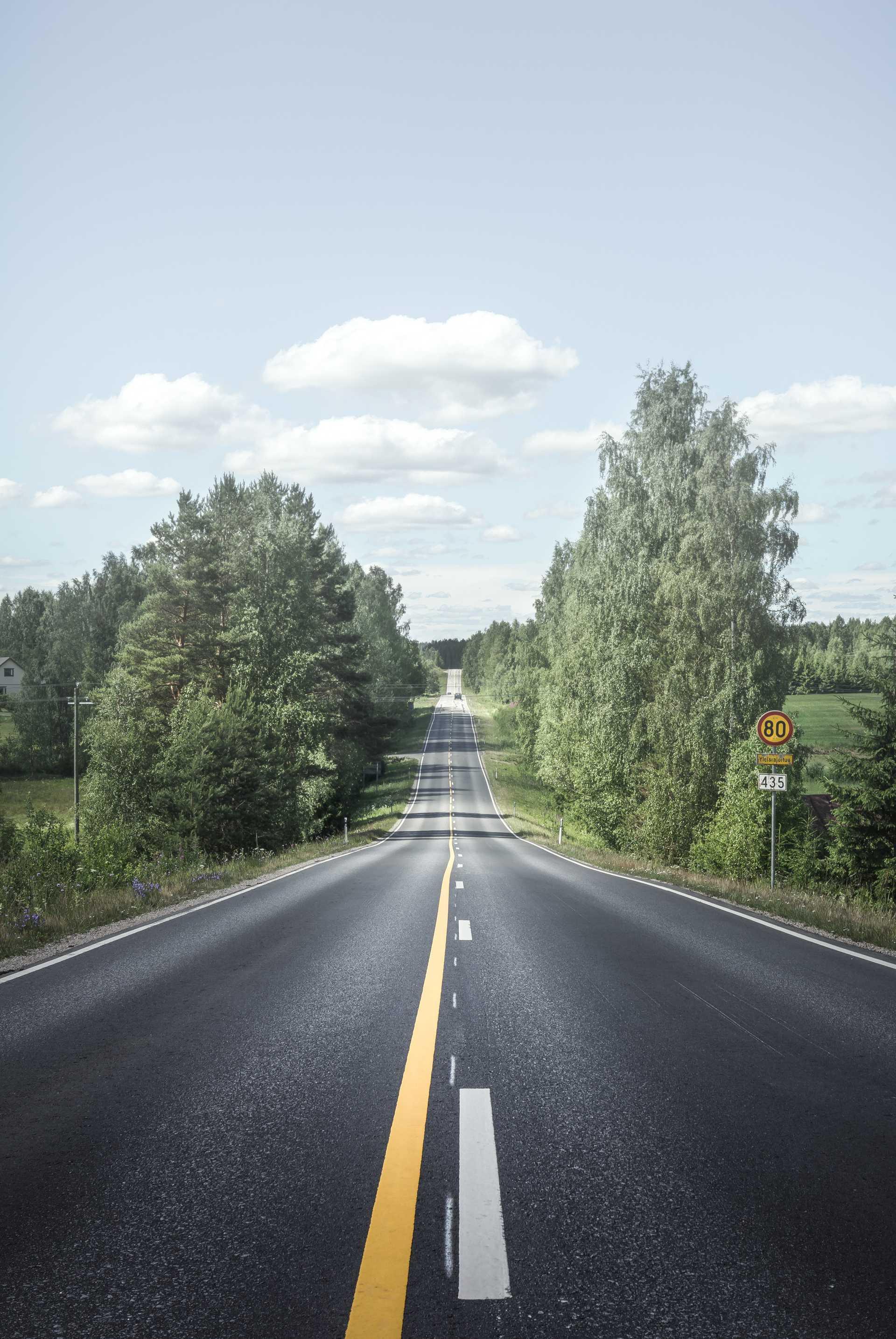 Road trip en Finlande l'été