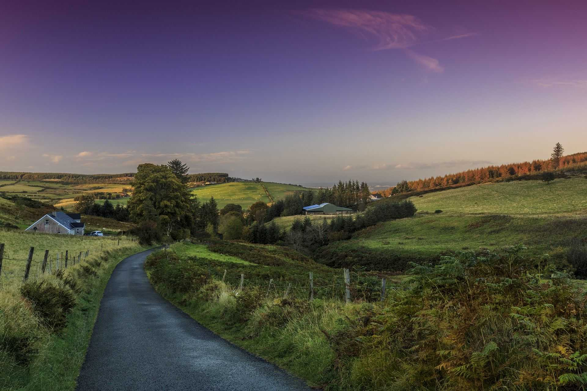 Road trip, cyclotourisme, Irlande