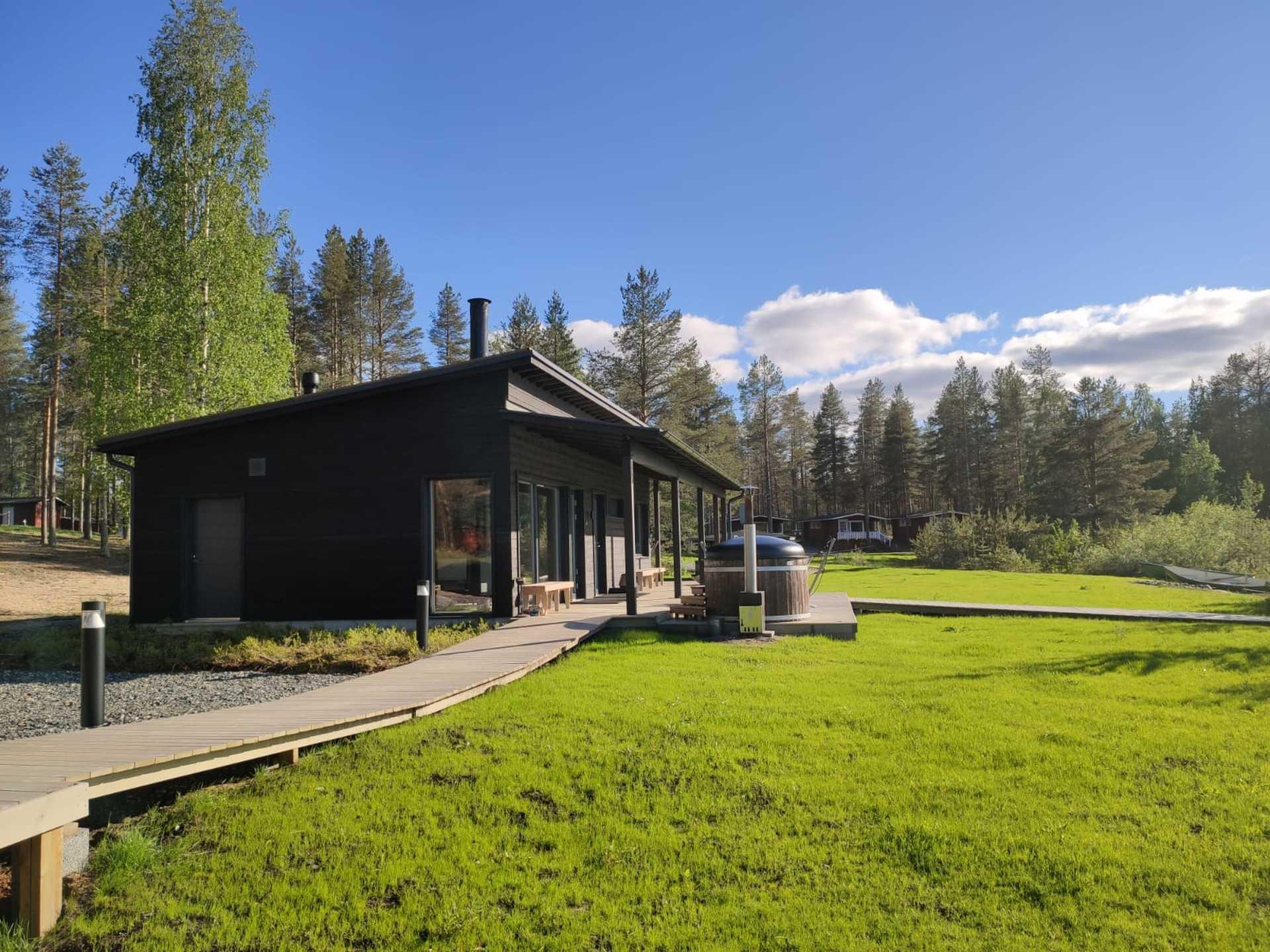 Sauna de Norwide, Finlande