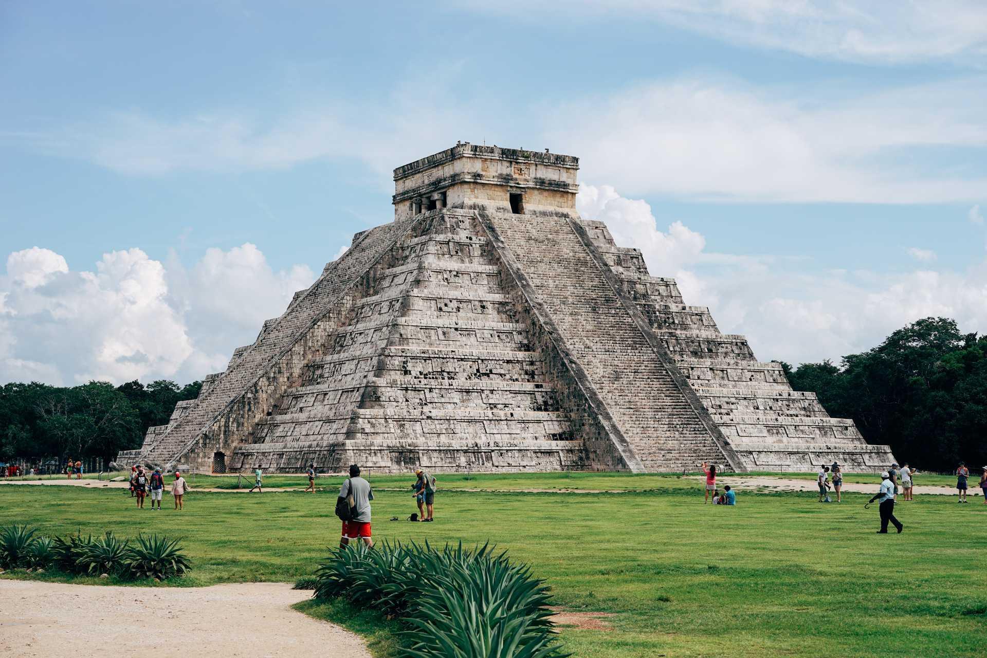 Site architectural de Chichen Itza, à Mexico