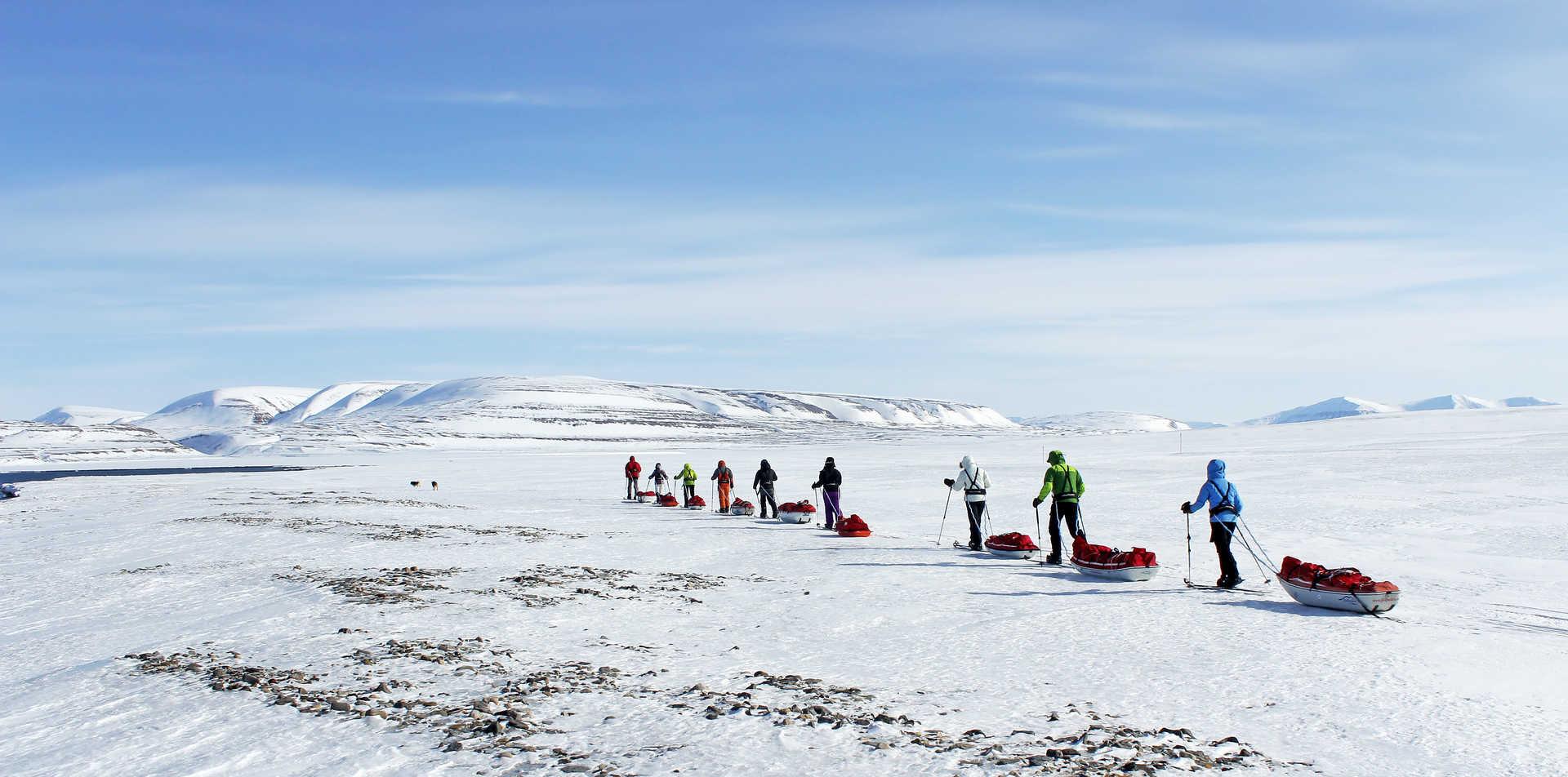 Photo d'un voyage raid à ski