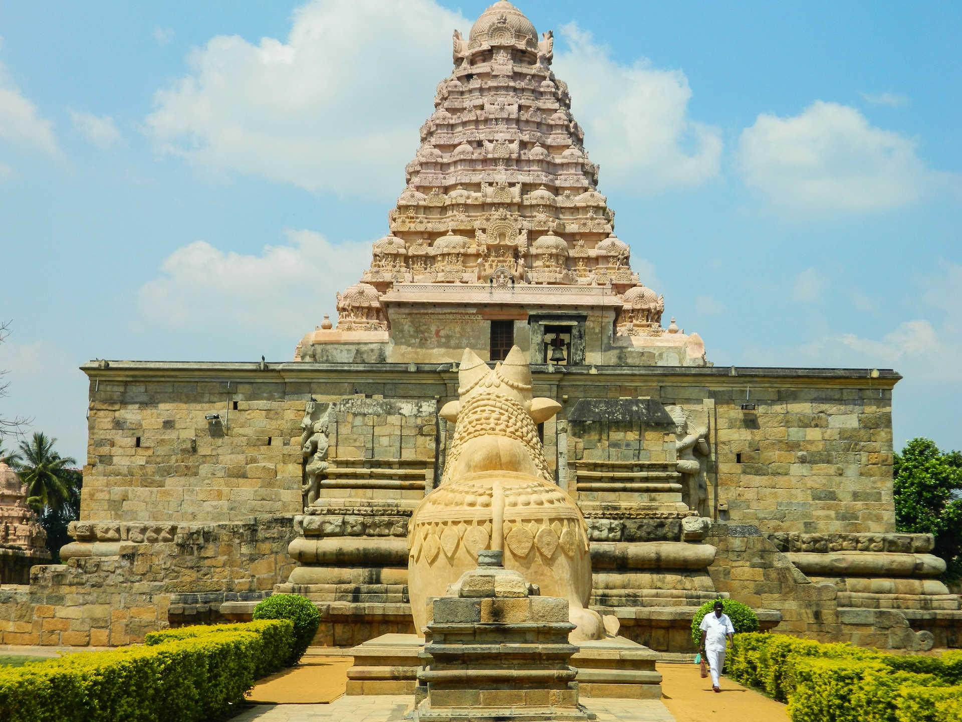 Temple de la dynastie Chola à Gangakondacholapuram