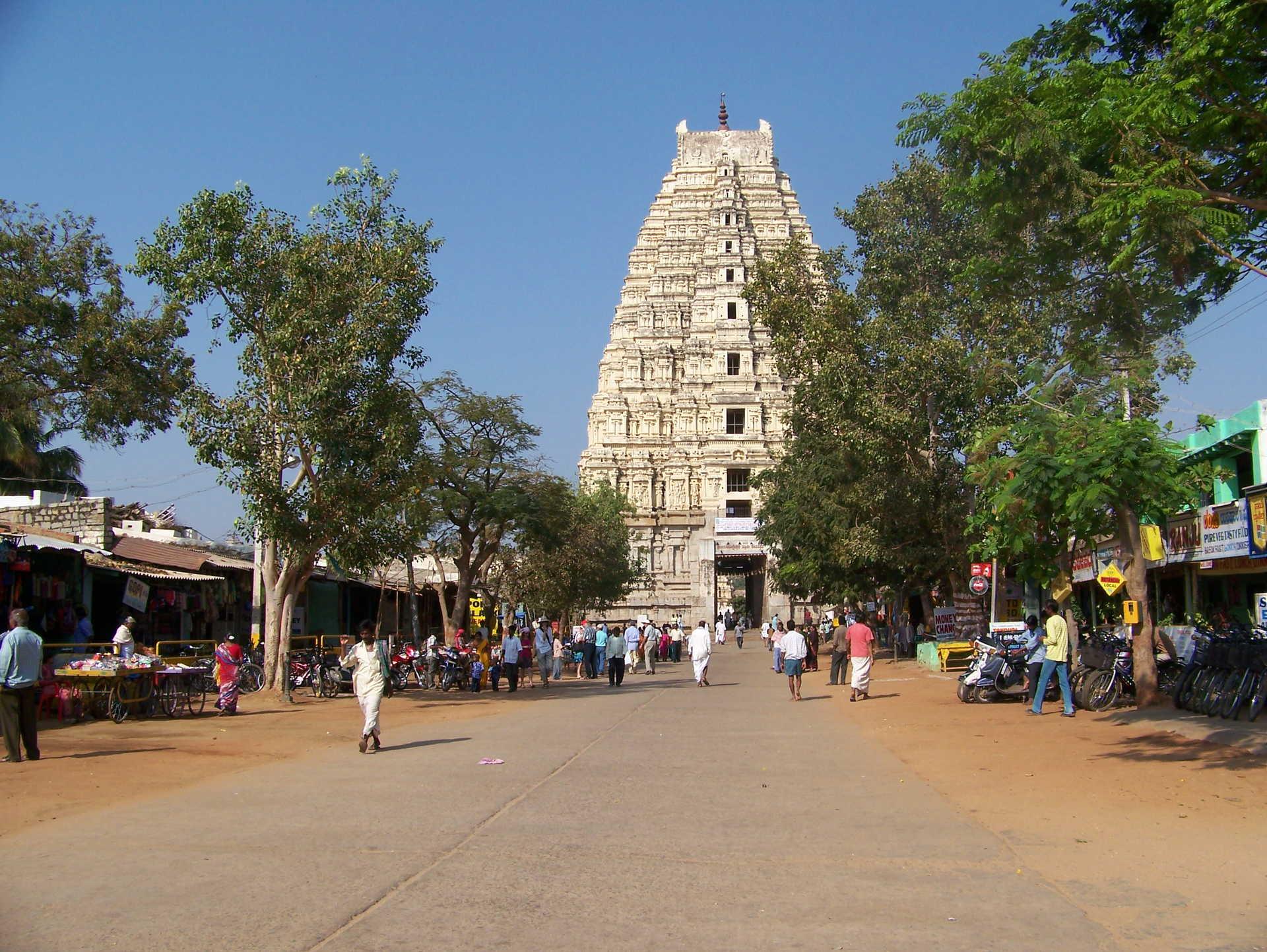 Temple de Virupaksha à Hampi, Karnataka