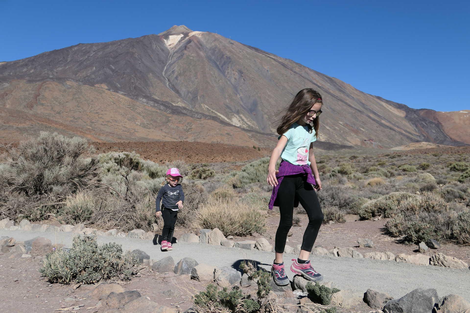 Tenerife, parc national du Teide