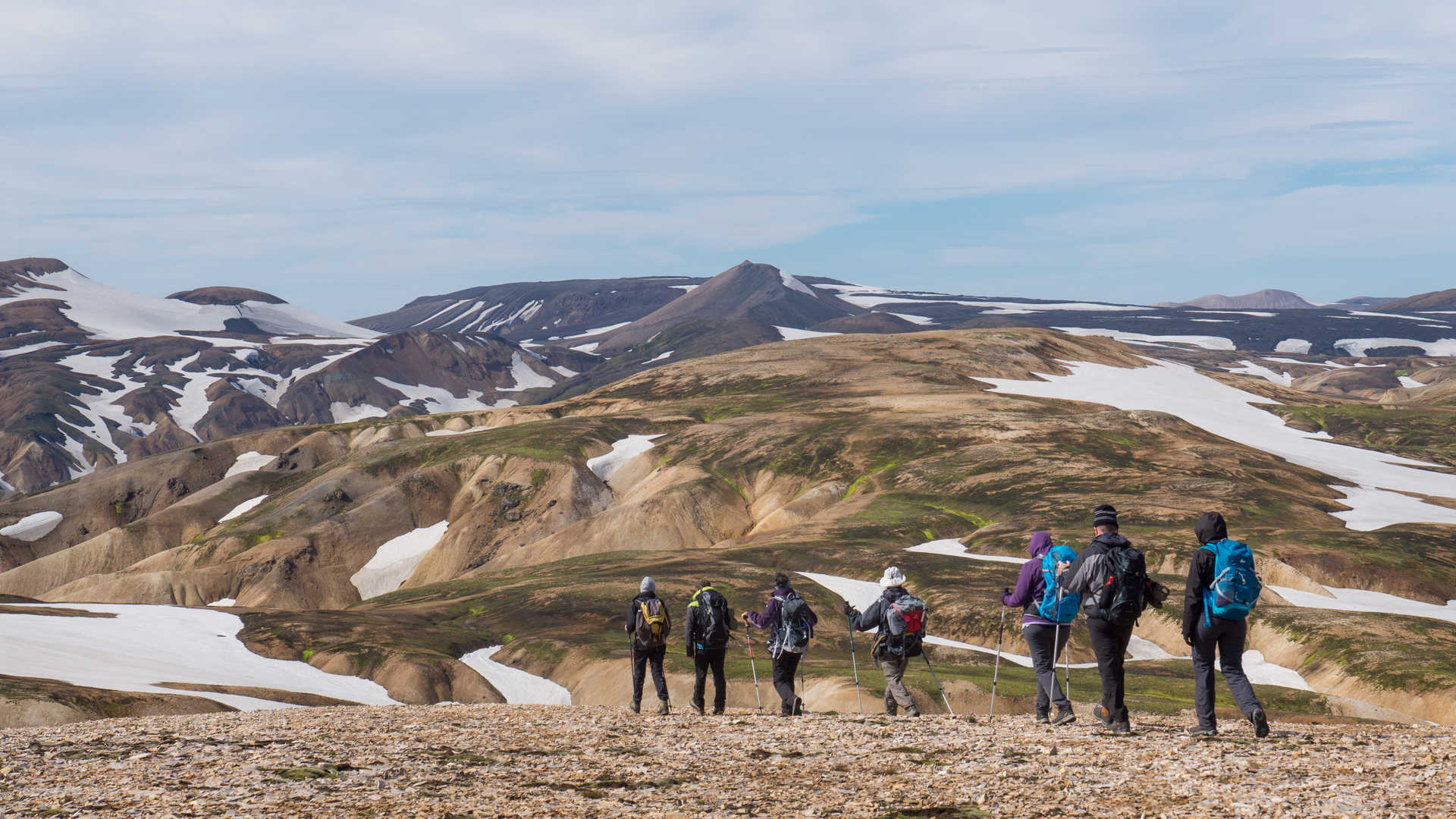 Trek à Landmannalaugar en Islande