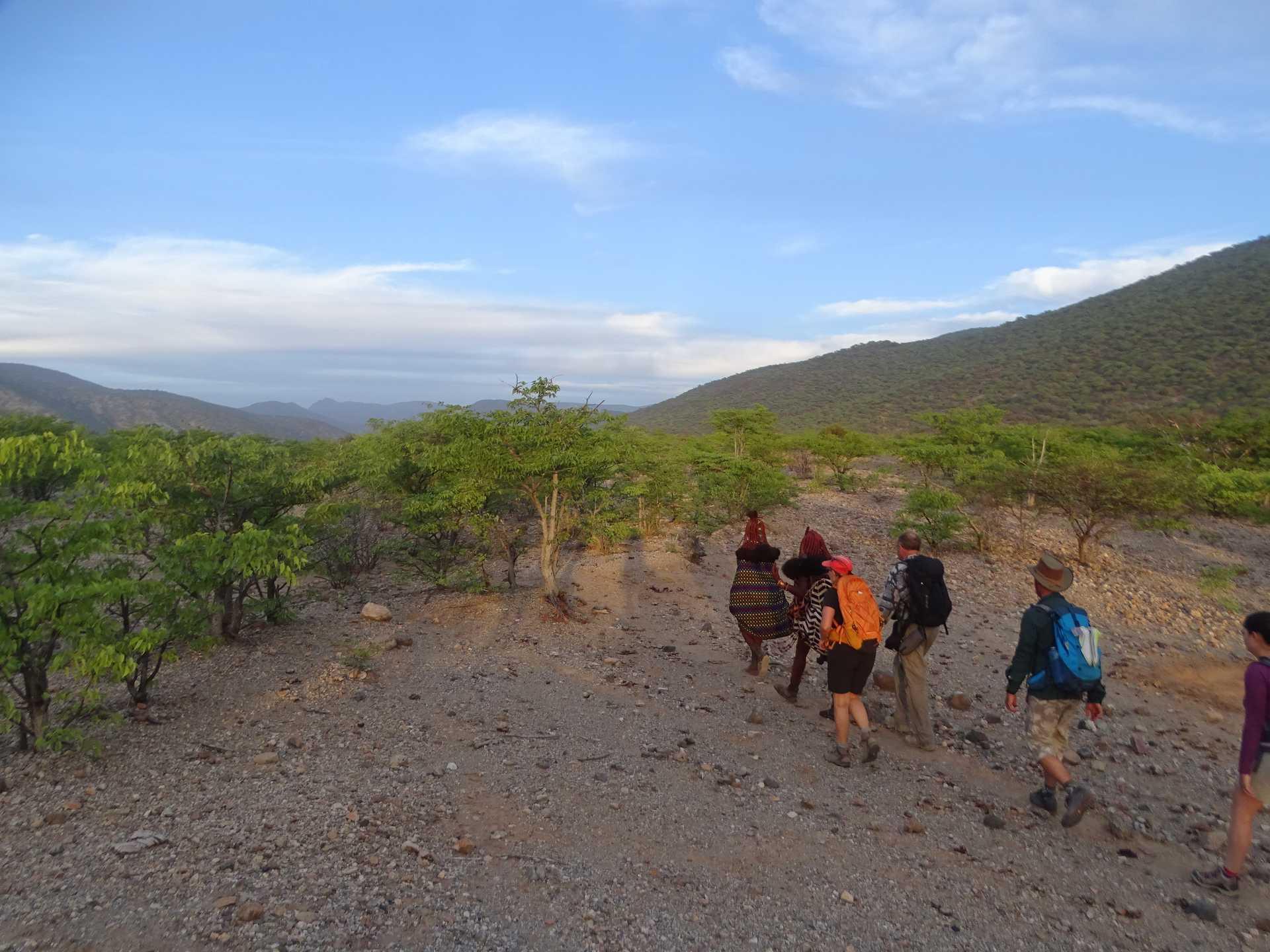Trek avec les Himbas dans la région du Kaokoland en Namibie