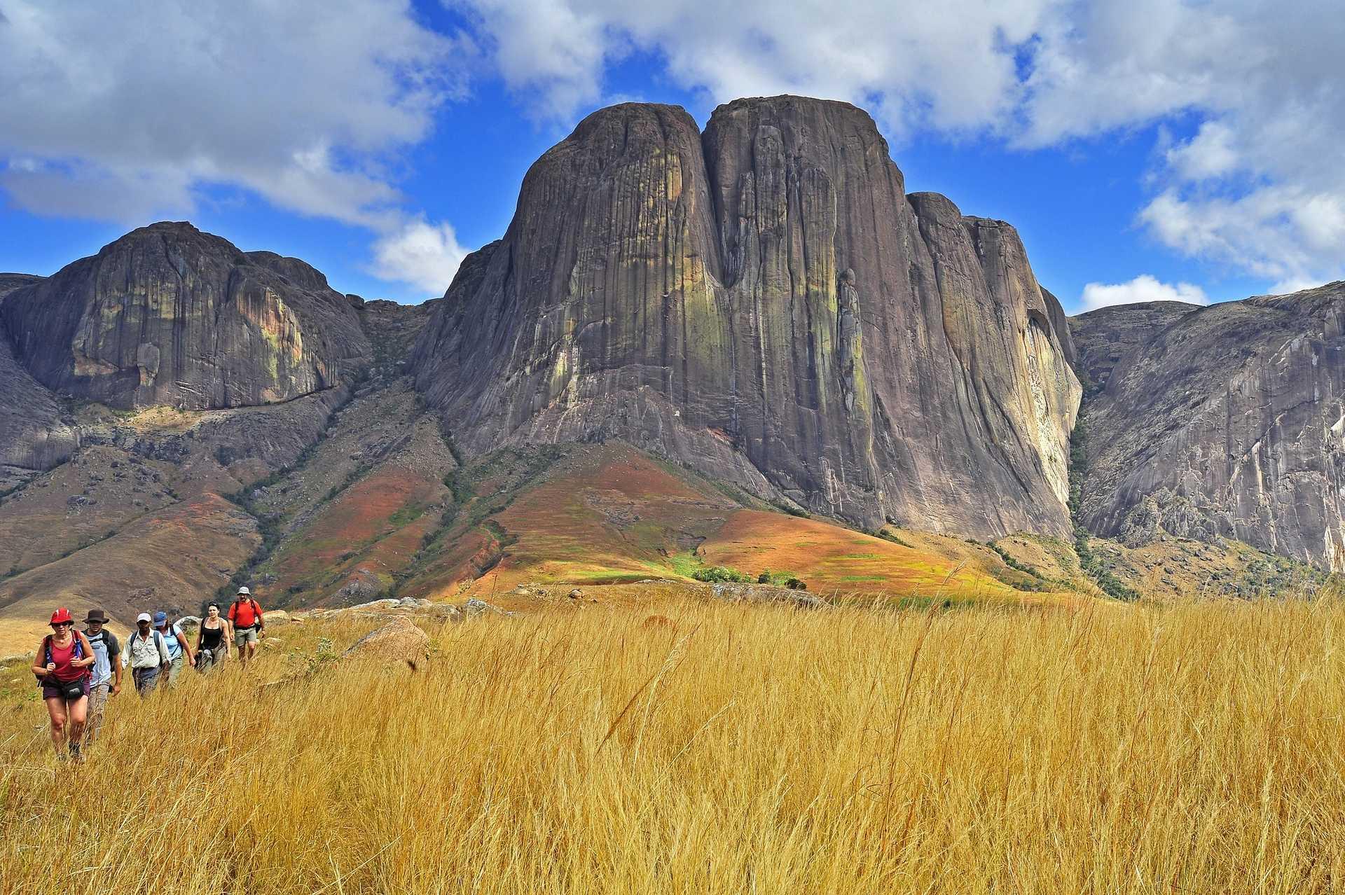 Trek dans la vallée de Tsaranoro