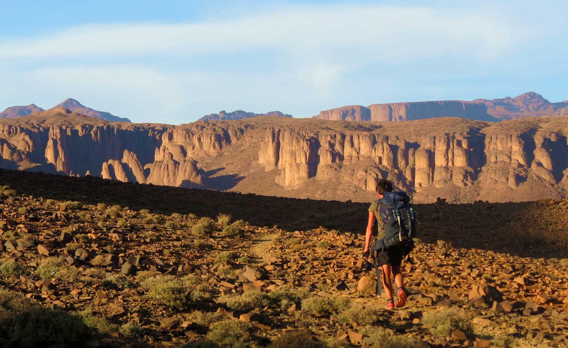 Trek Saghro, Maroc