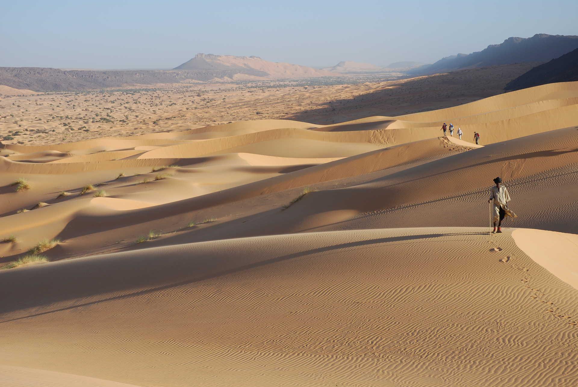 Trek vallée Blanche, Mauritanie