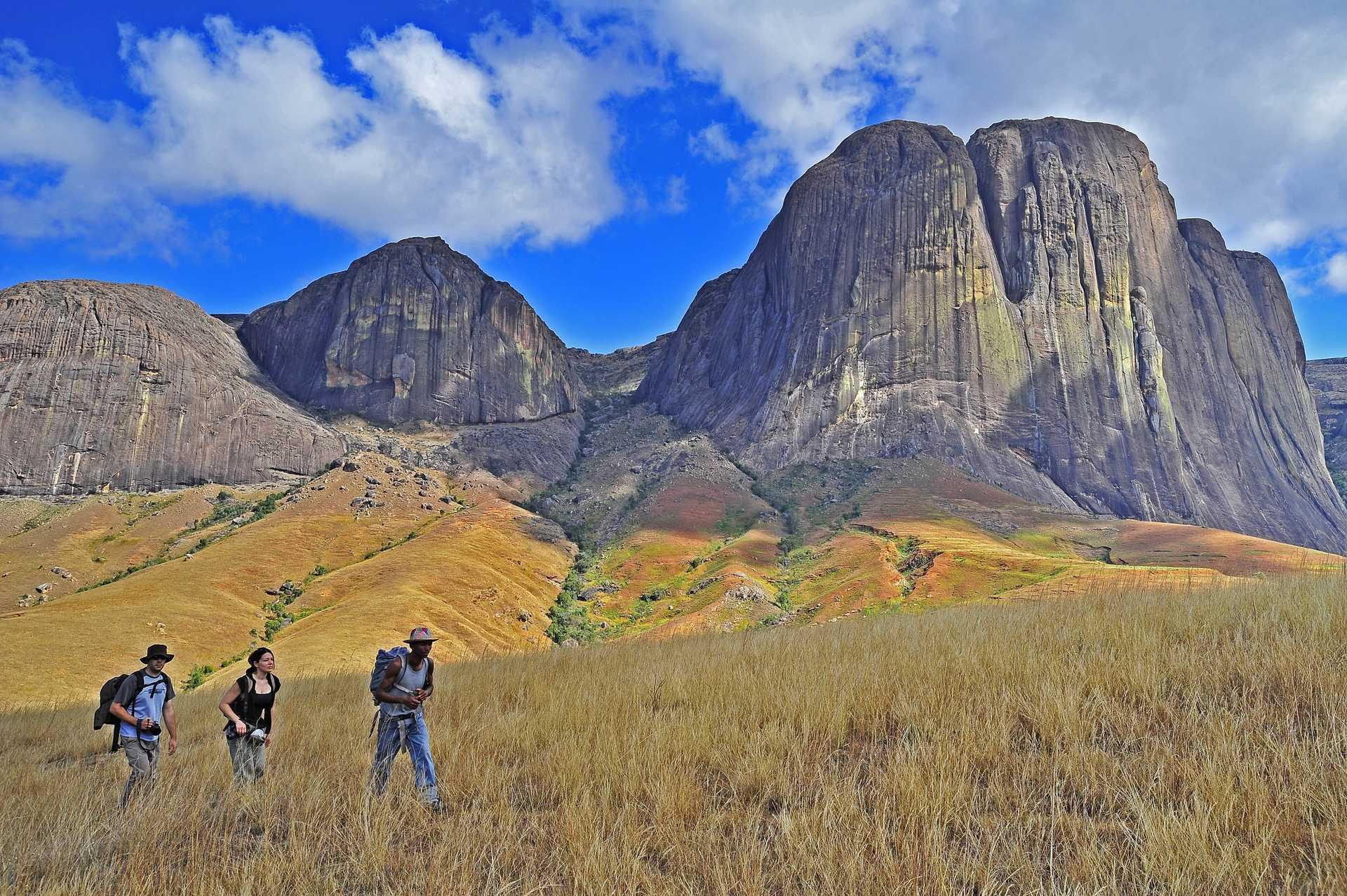 Trekking dans le parc de l'Andringitra , Hautes Terres de Mada