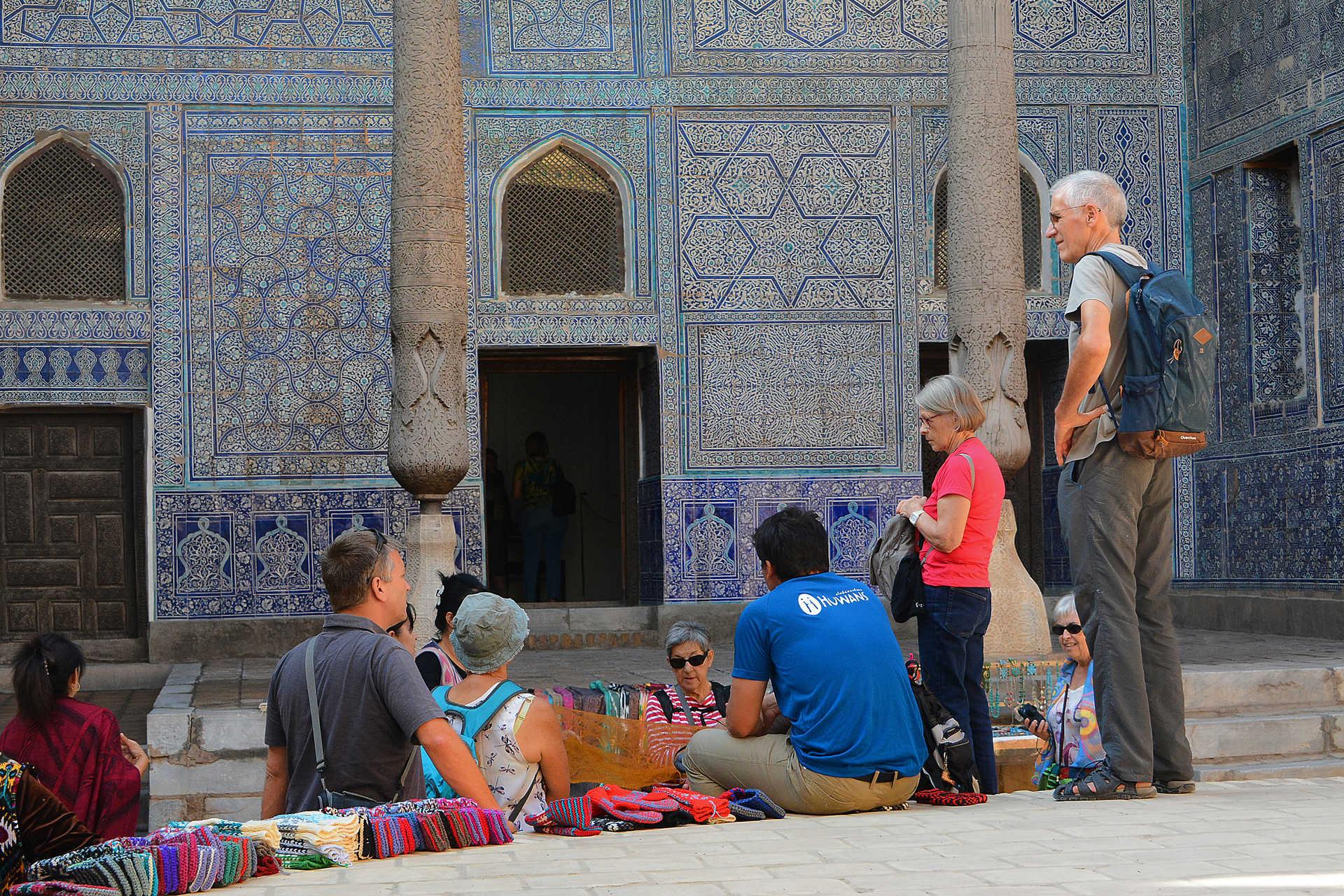 un palais à Khiva