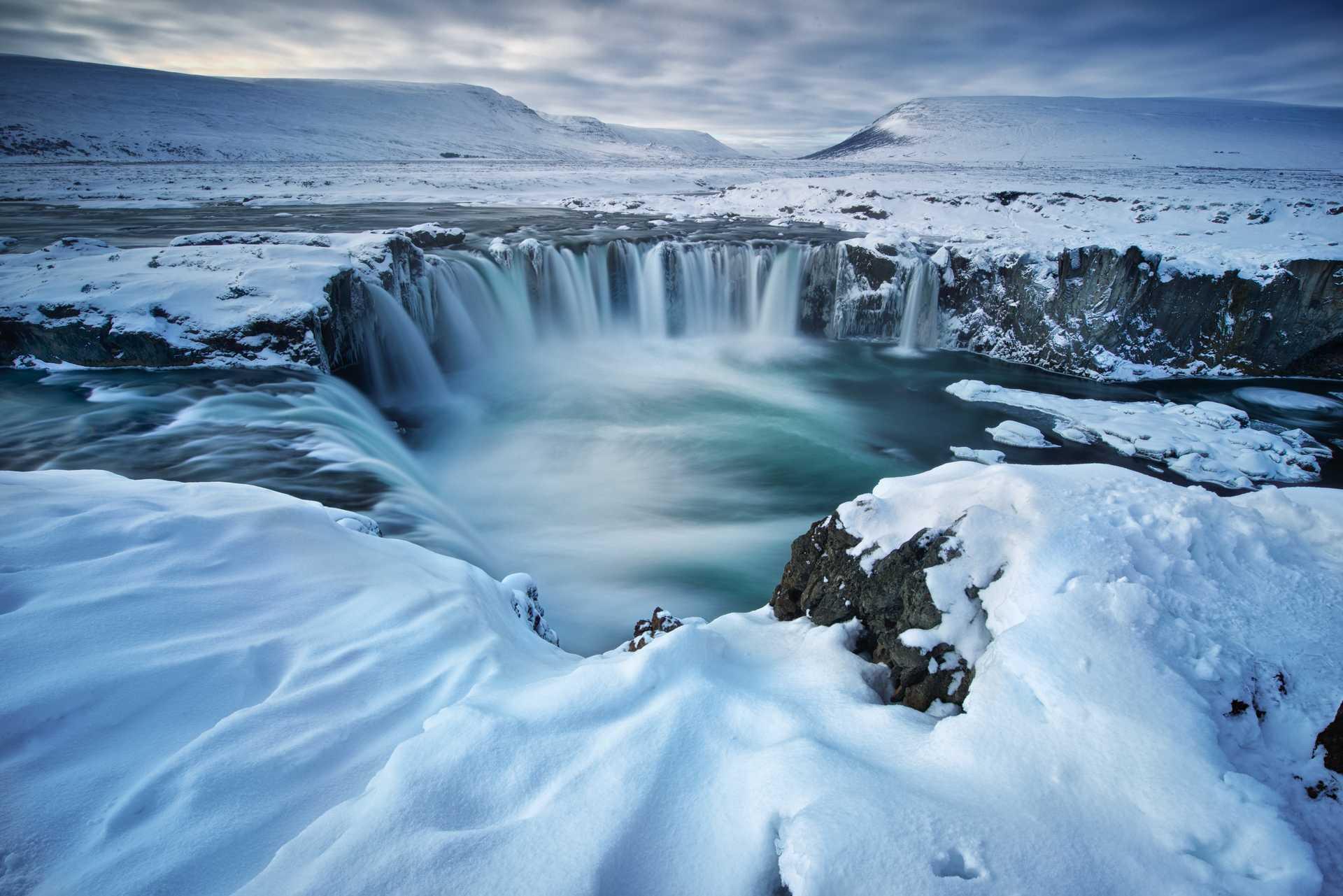 Vacances en hiver en Islande