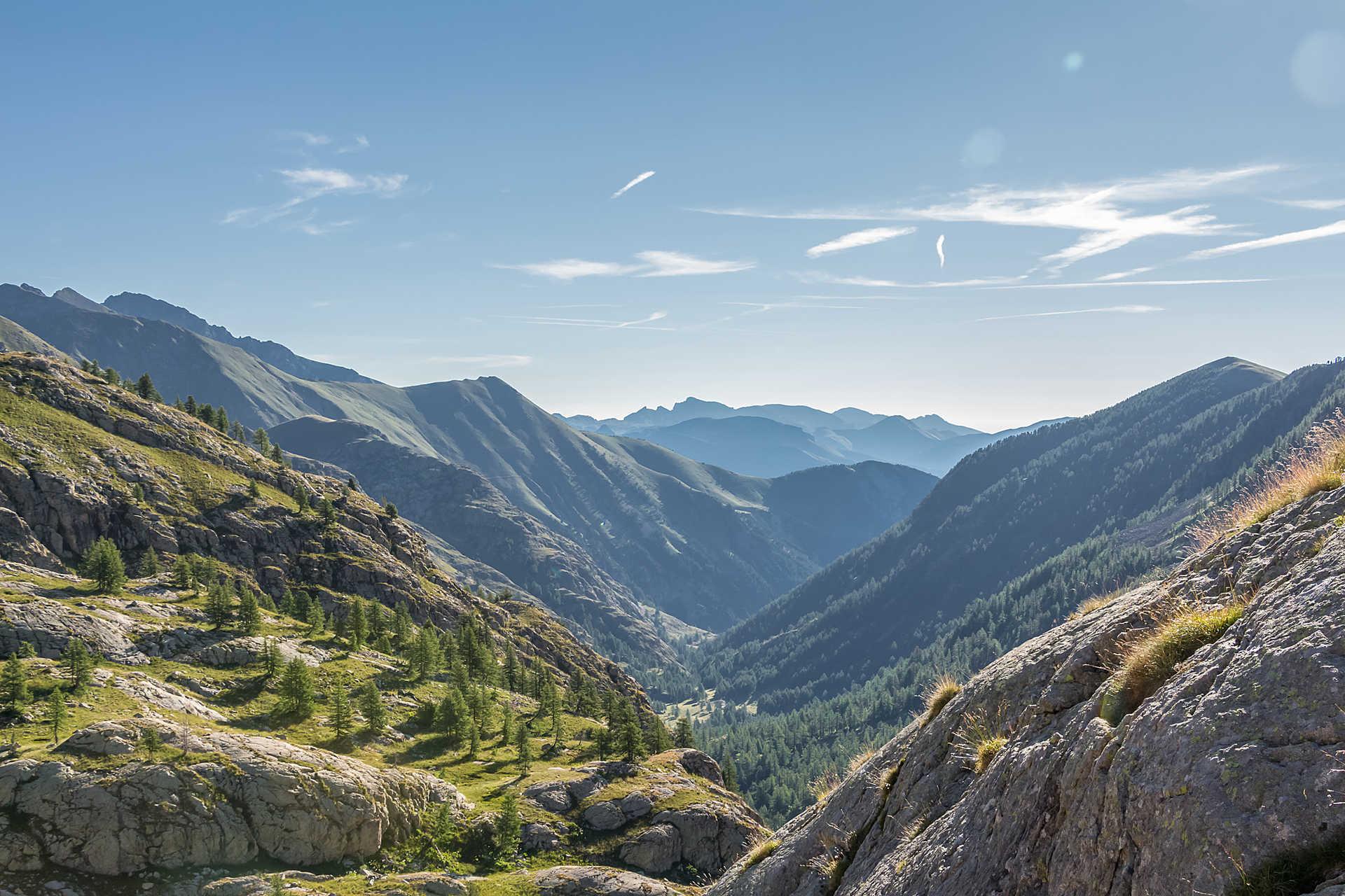 Vallée de la Valmasque dans le Mercantour