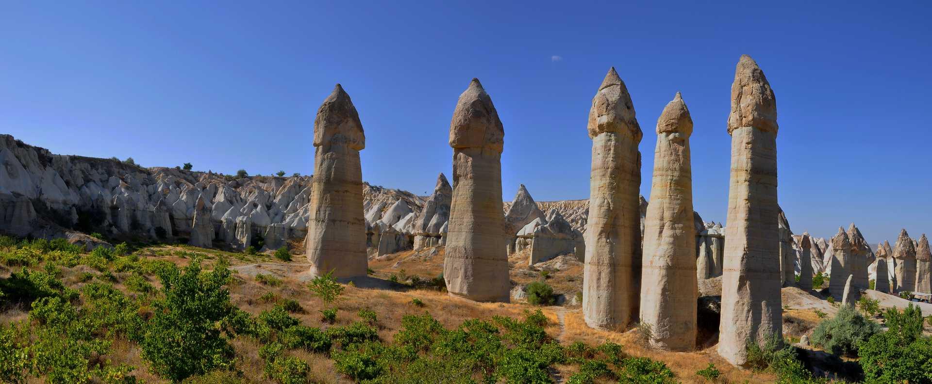 Vallée de l'Amour, Cappadoce, Turquie