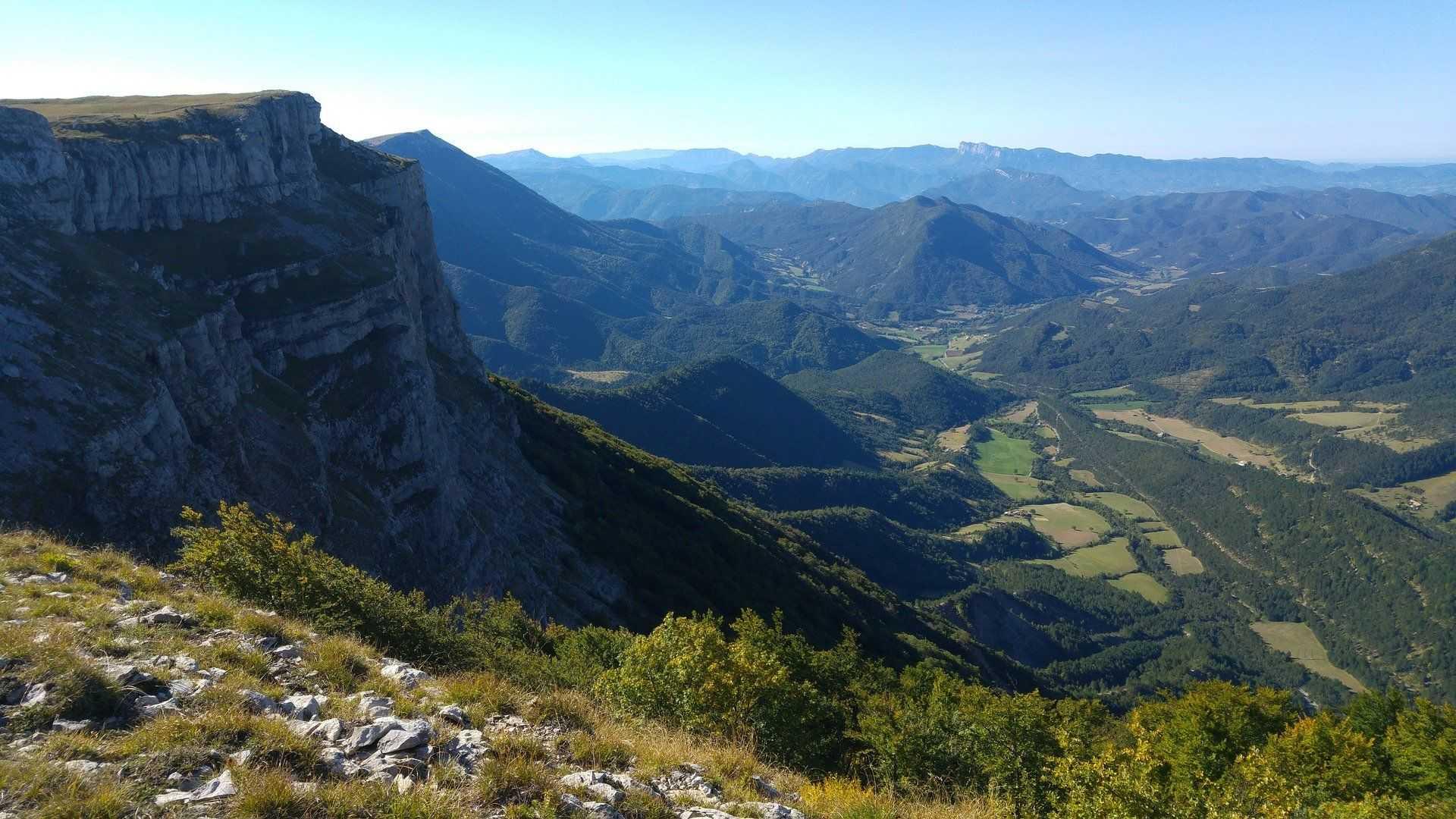Vallée du massif du Vercors