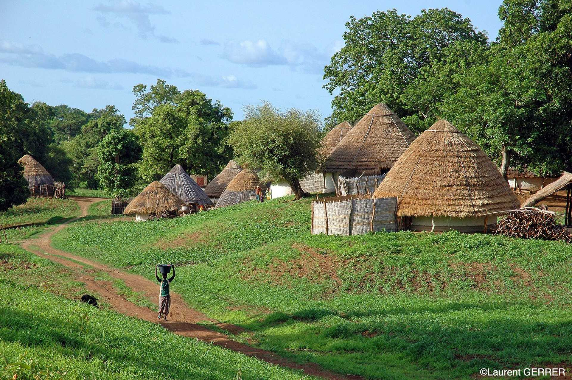 Village Bedick du Sénégal Oriental