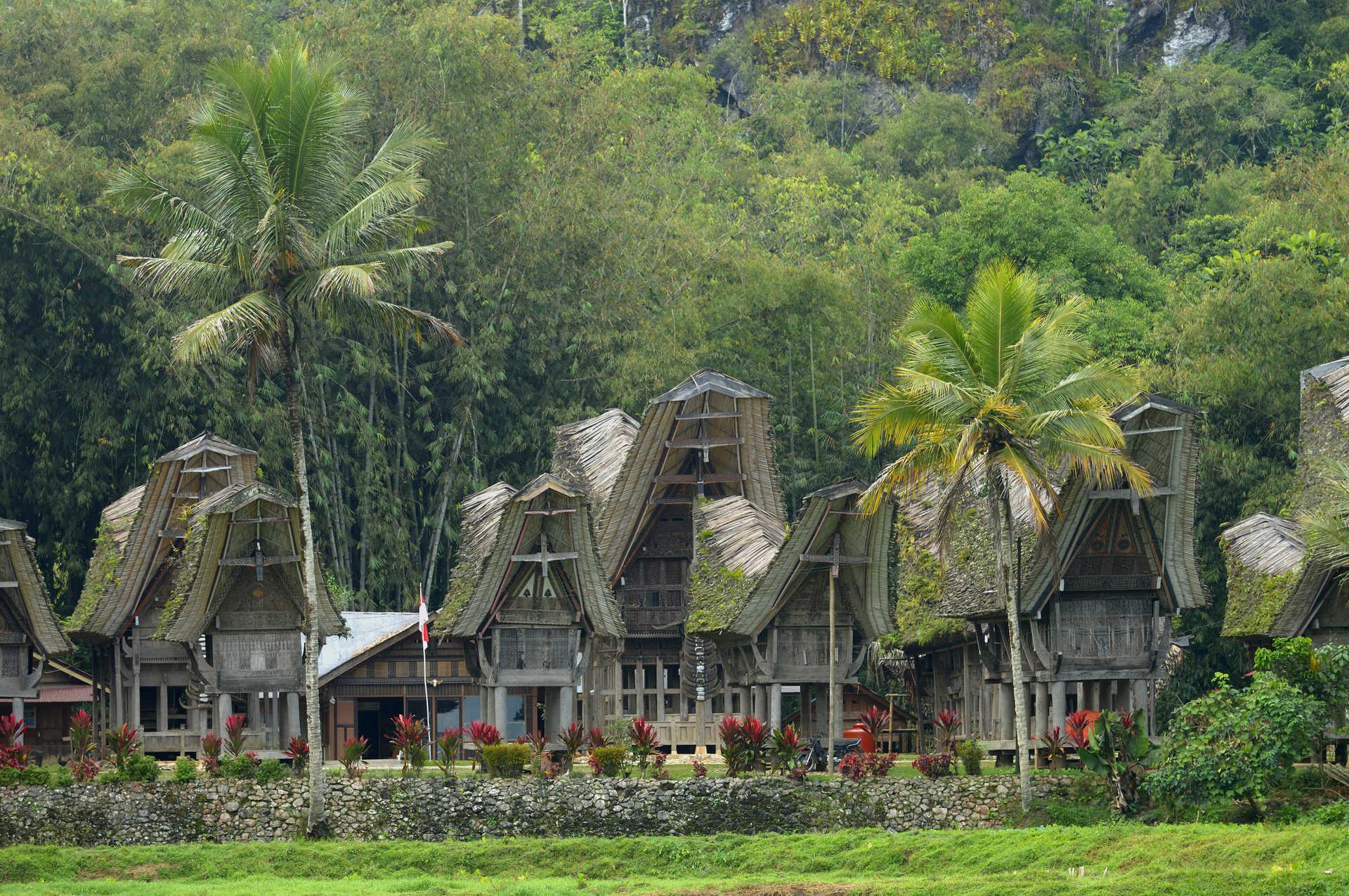 Village de Kete Kesu au Pays Toraja