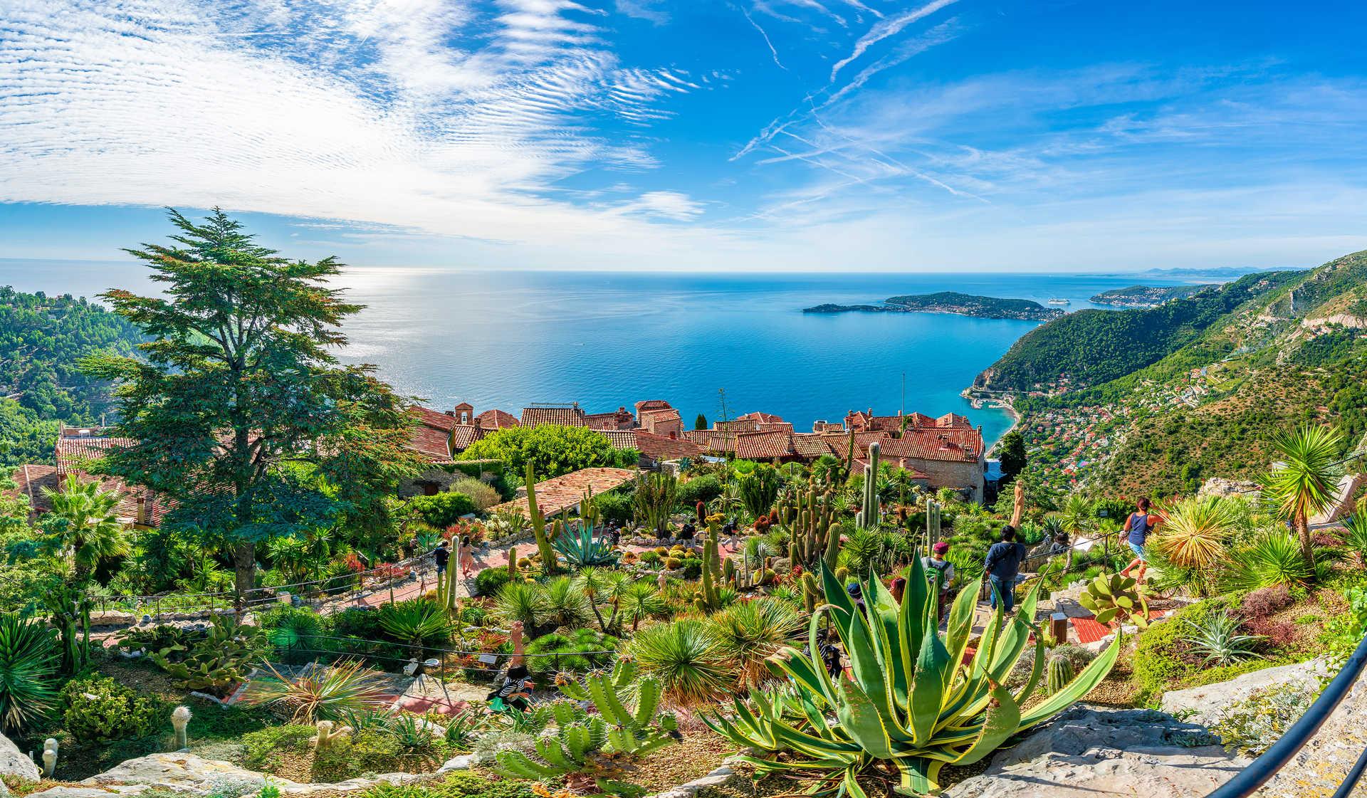 Village d'Eze sur la côte d'Azur