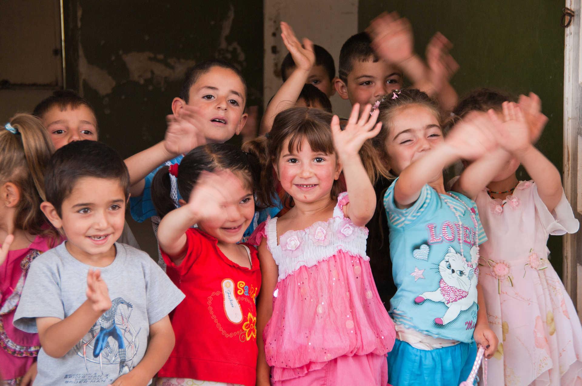 Visite d'une école en Arménie