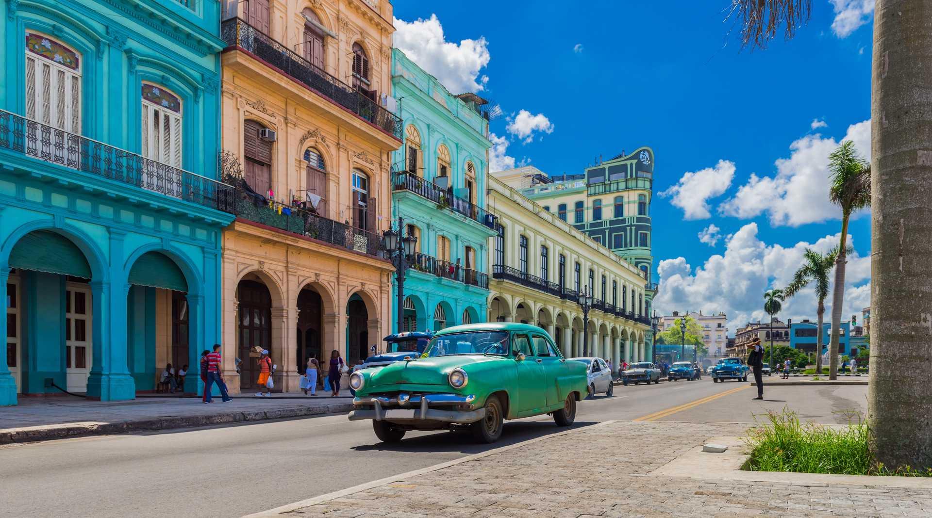 Voiture américaine dans la Havane