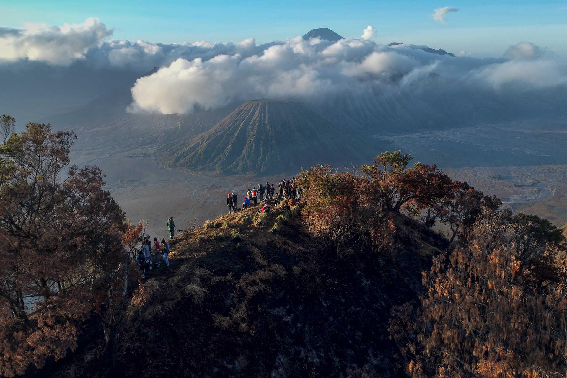 Volcan Bromo sur l'île de Java