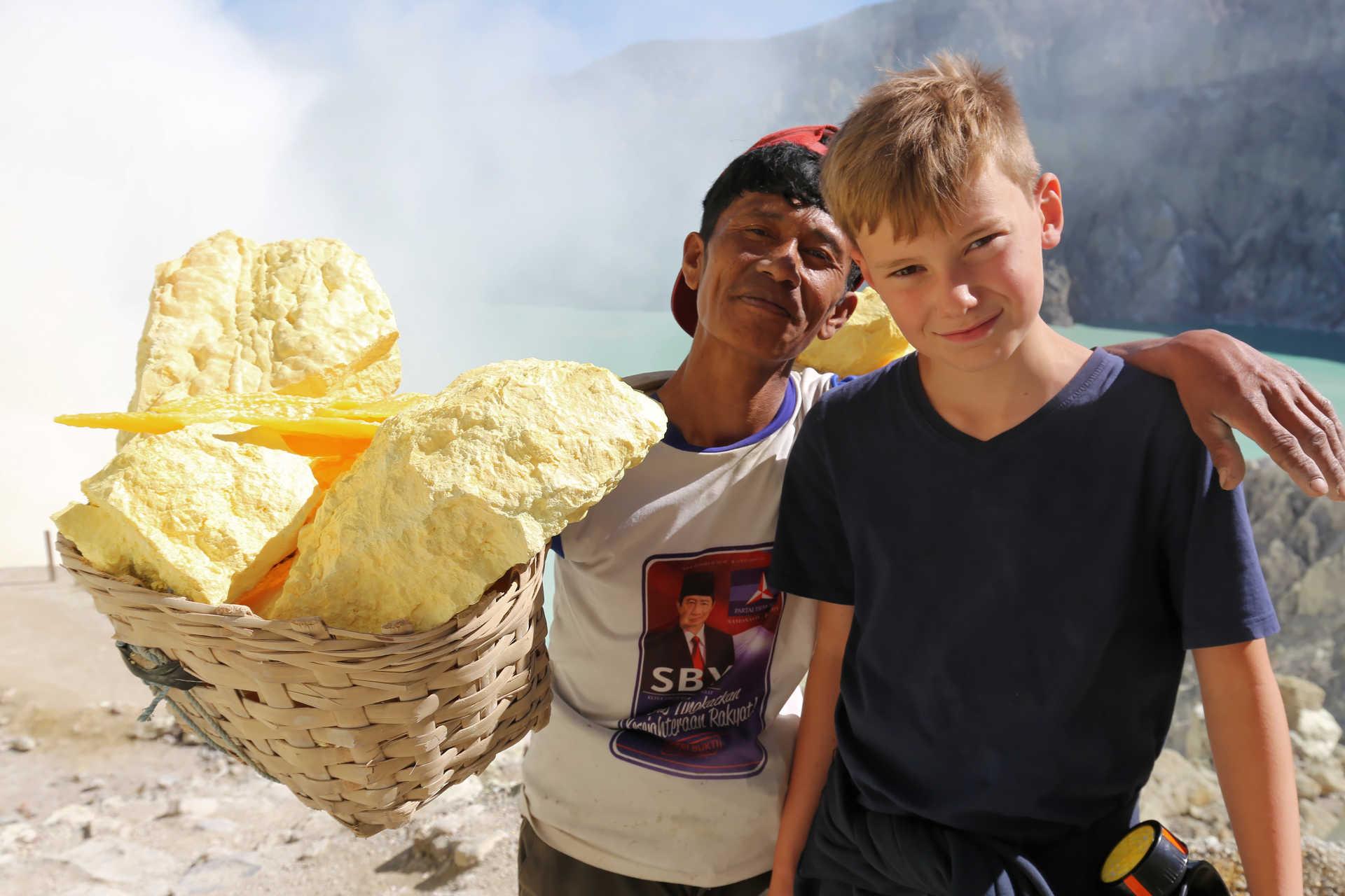 Volcan Kawa Ijen à Java