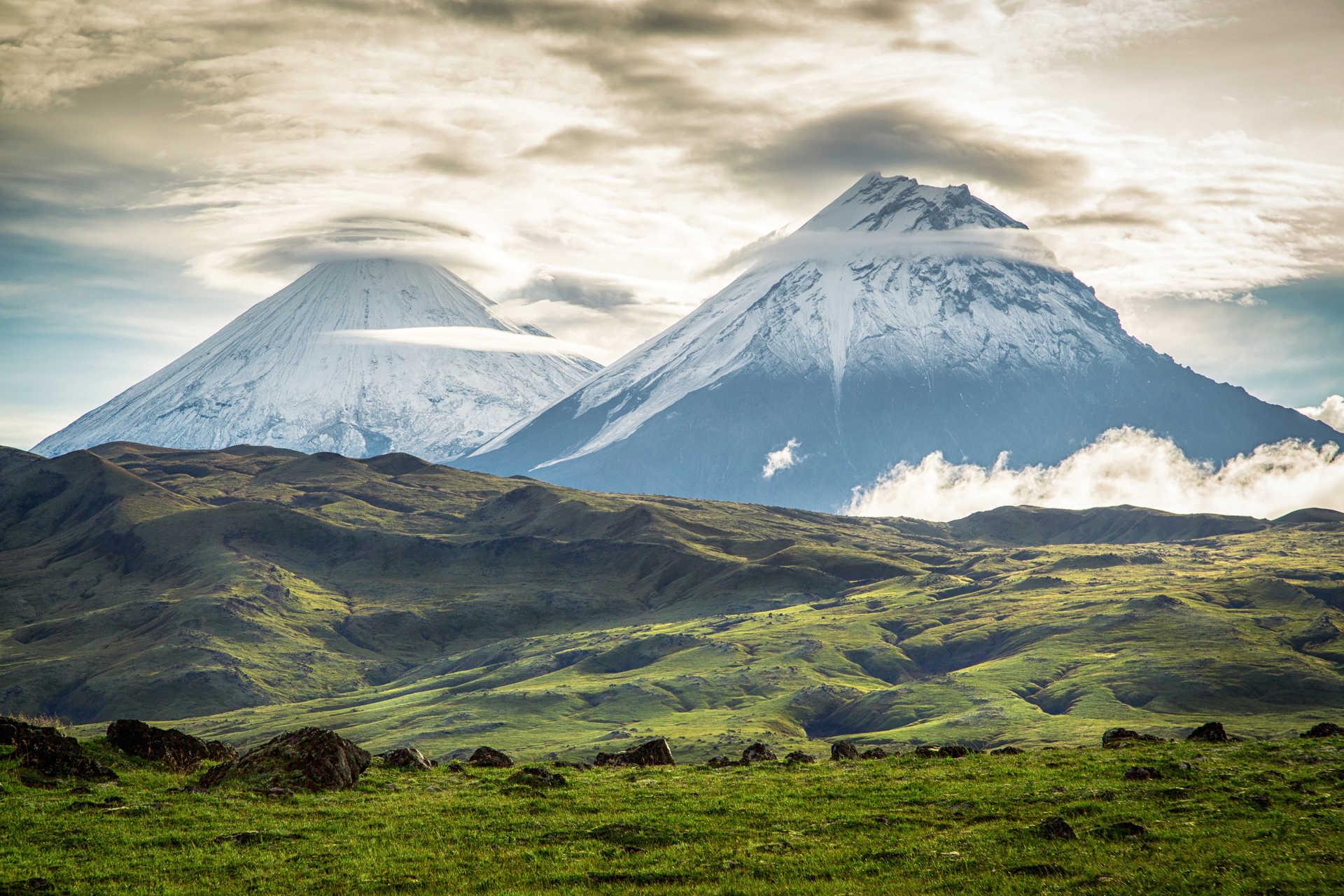 Volcans du Kamtchatka