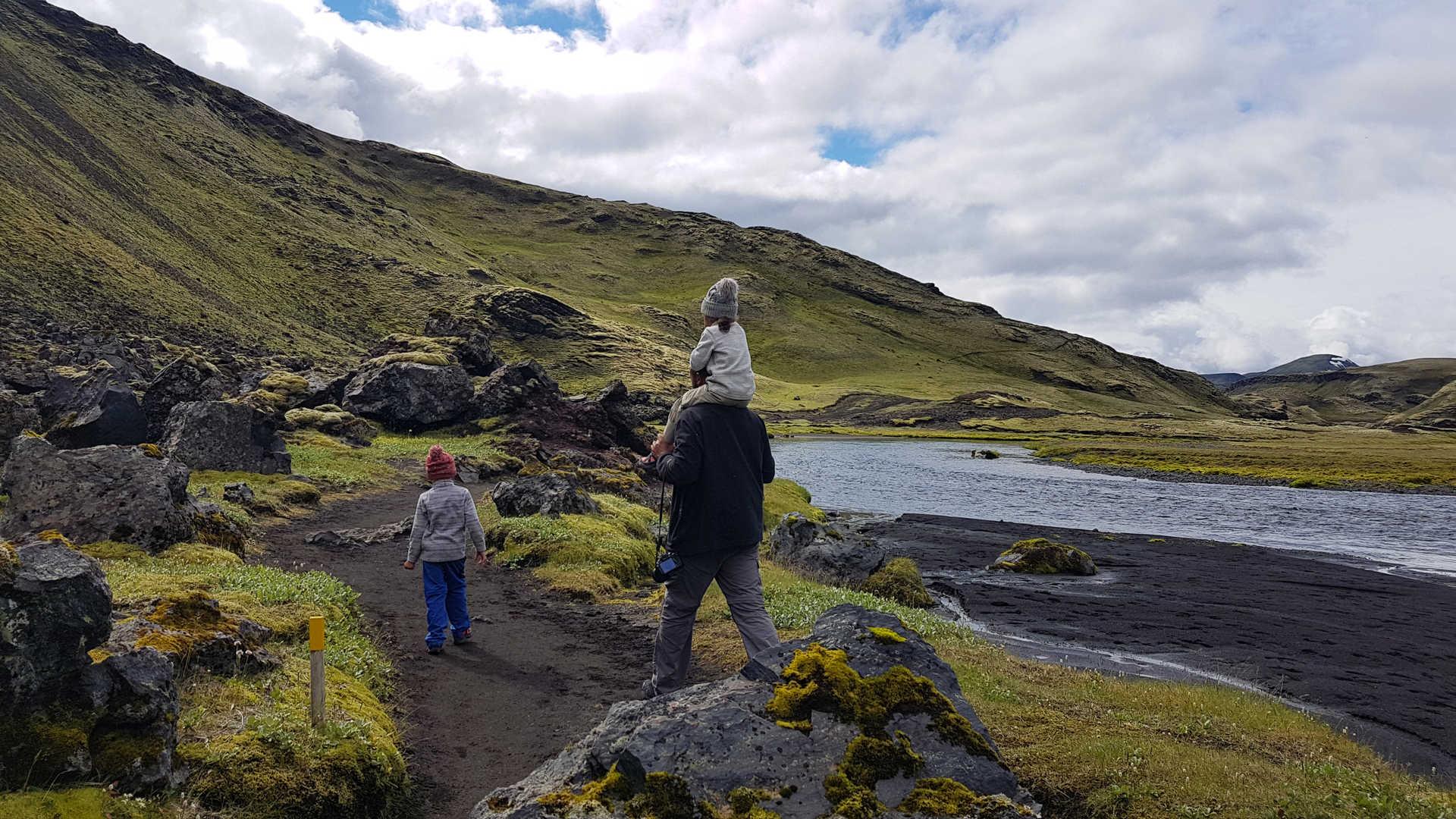 Voyage famille en Islande