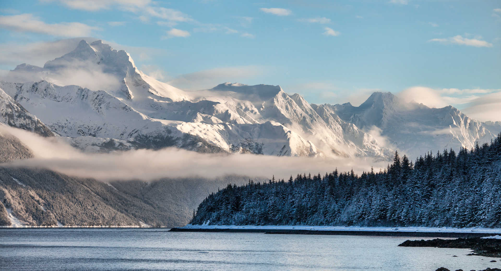 Alaska du Sud en hiver