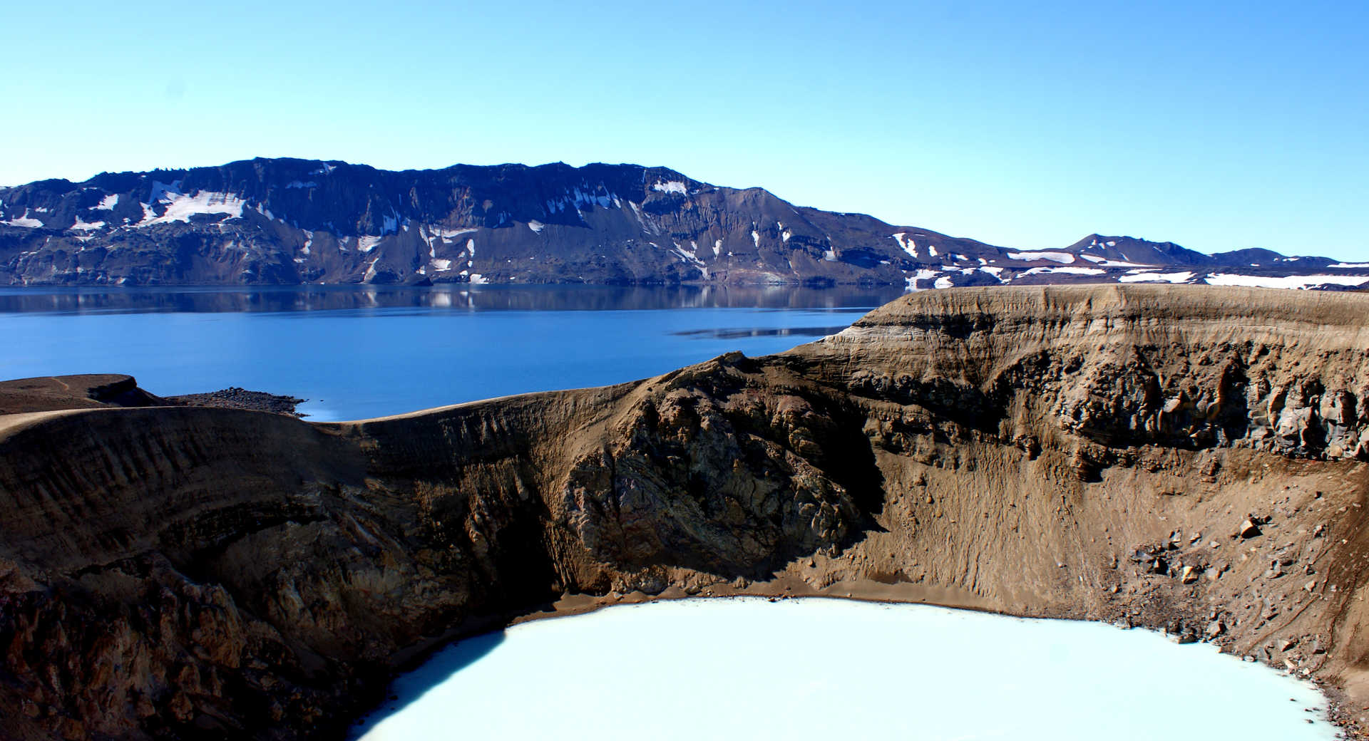 Askja, cratère d'Islande
