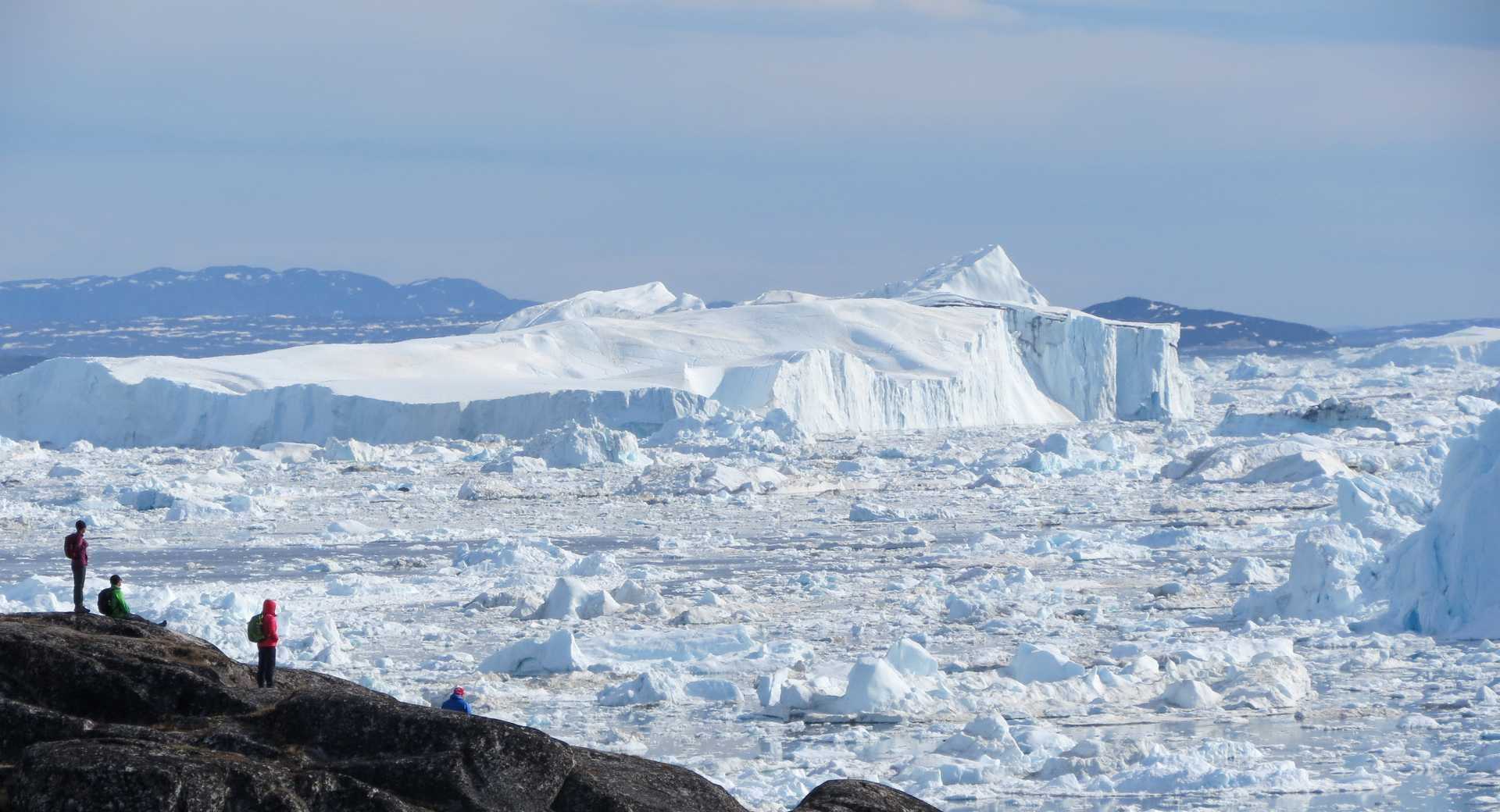 Baie de Disko au Groenland