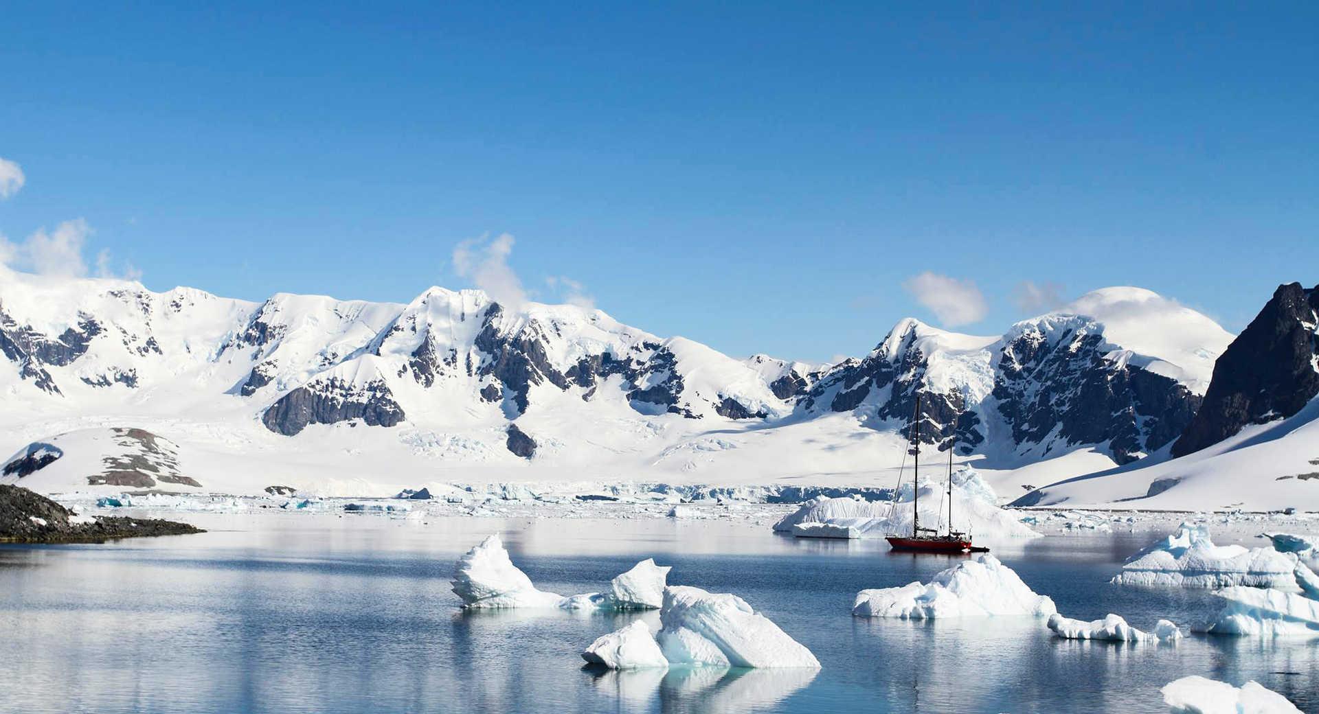Croisière en voilier en Antarctique